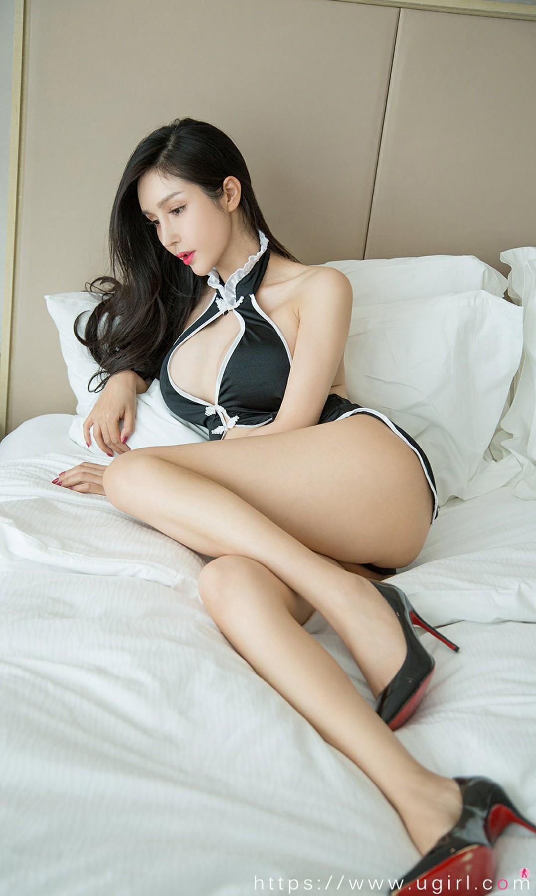[Ugirls尤果网]爱尤物专辑 2020.09.18 No.1911 田冰冰 美爆旗袍 第2张