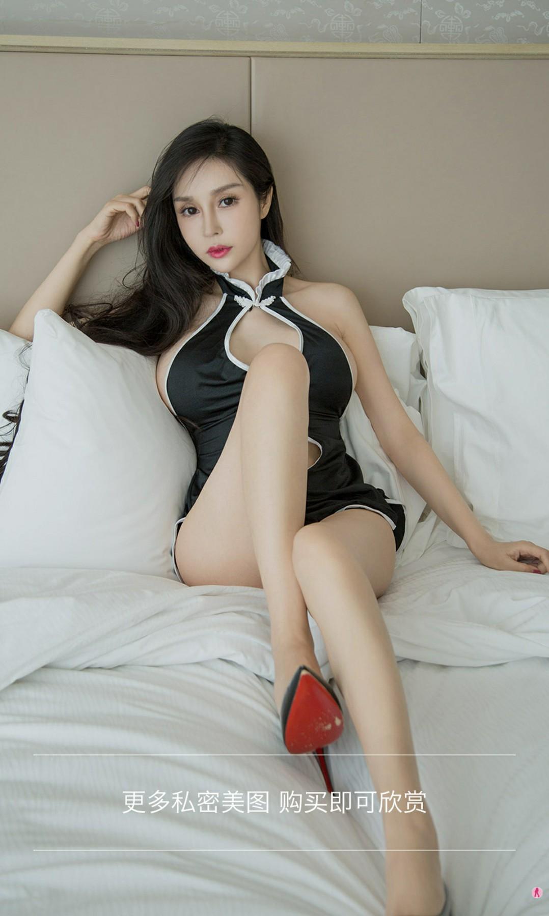 [Ugirls尤果网]爱尤物专辑 2020.09.18 No.1911 田冰冰 美爆旗袍 第3张