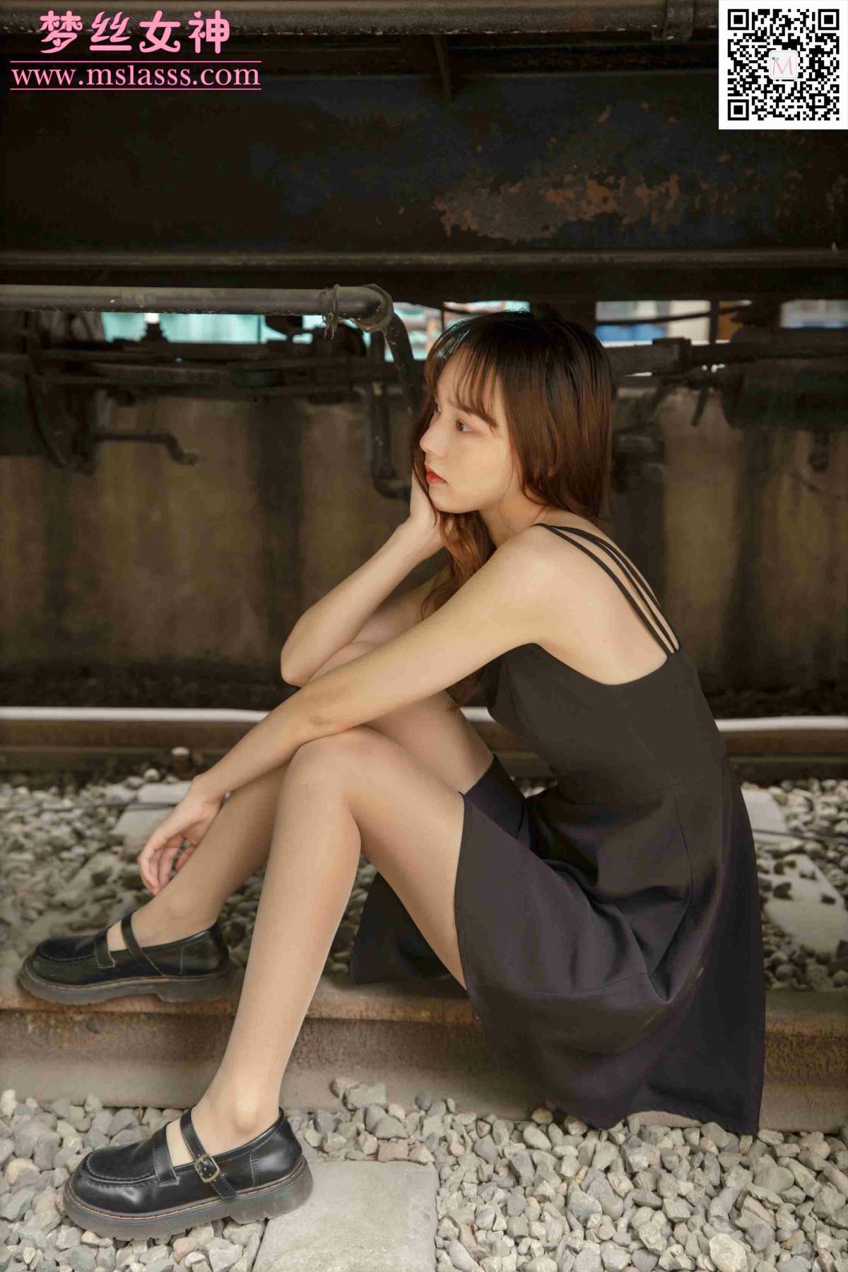 [MSLASS梦丝女神] 2020.04.25 玥玥 火车超自然系 第2张