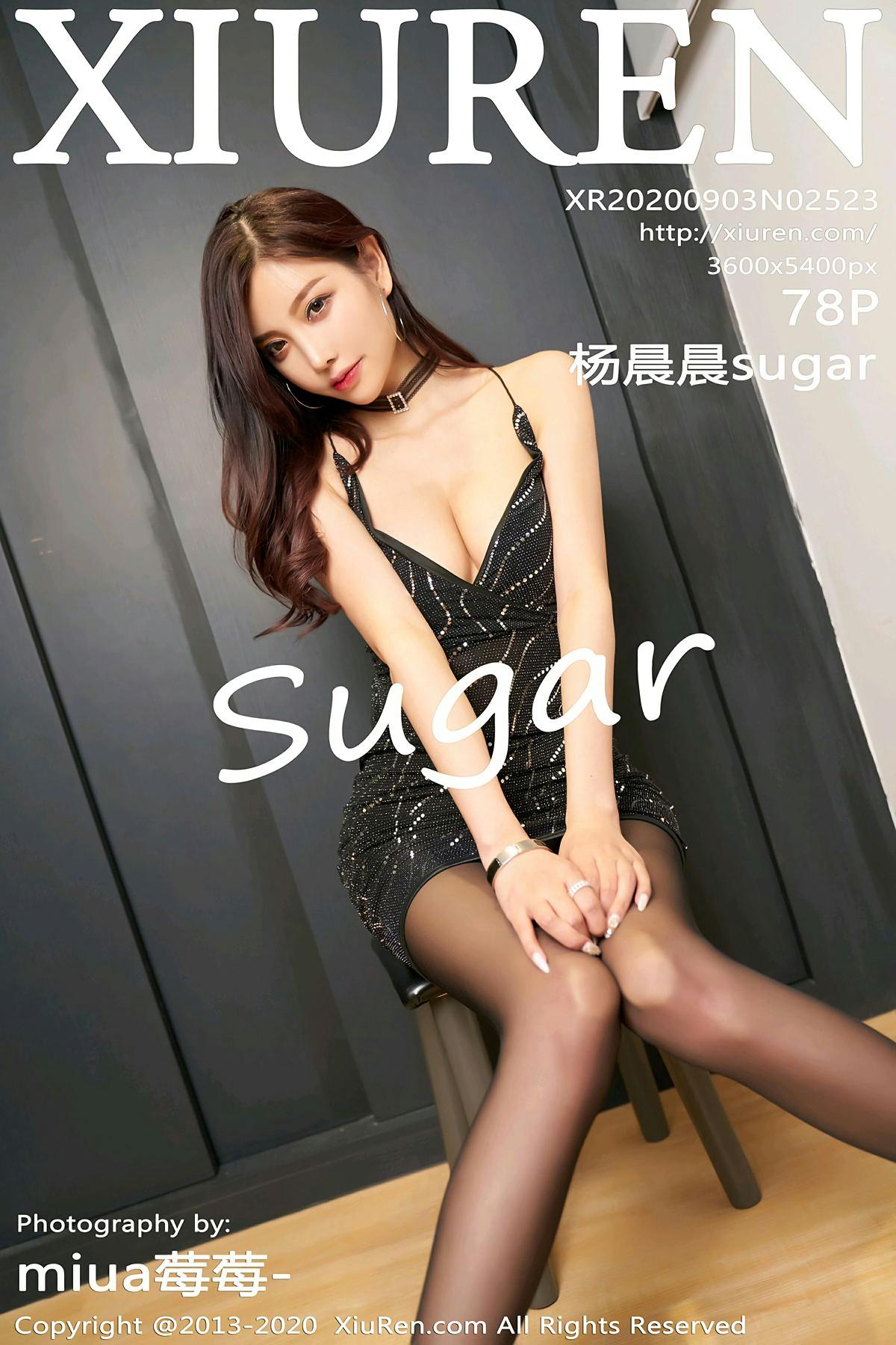 [XiuRen秀人网] 2020.09.03 No.2523 杨晨晨sugar 极致黑丝 第1张