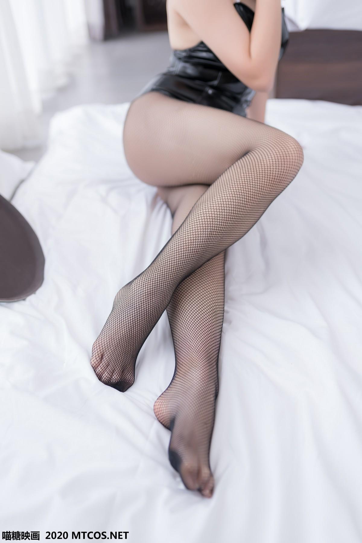 [喵糖映画] 兔美系列 TML.002 网袜兔女郎 第2张