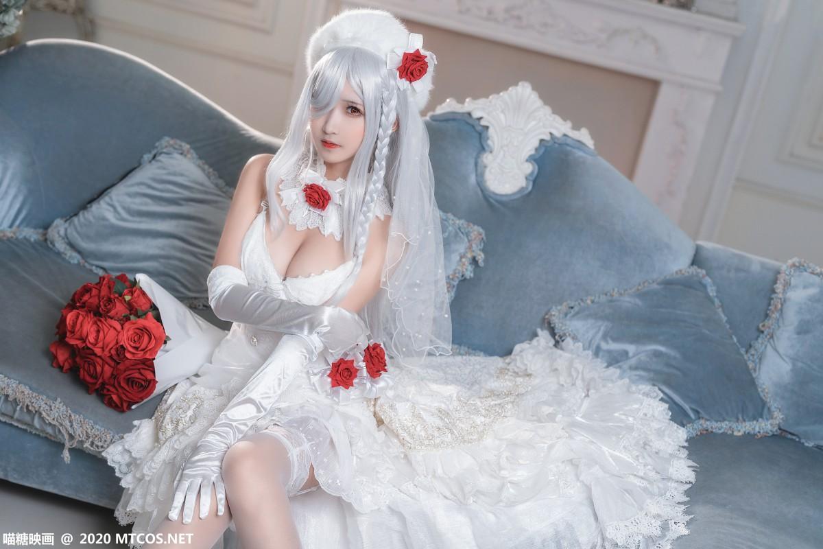 [喵糖映画] 2020.09.18 赏美系列 VOL.284 花嫁 第2张