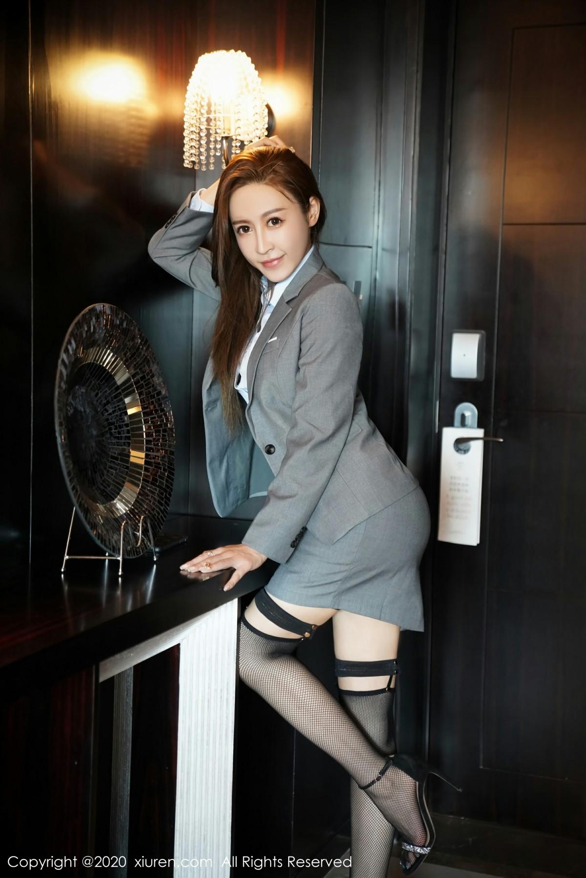[XiuRen秀人网] 2020.10.12 No.2638 周井空 第4张
