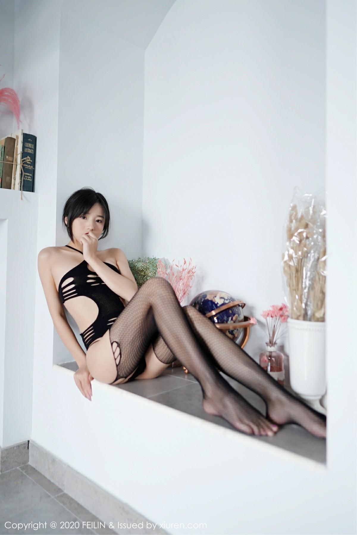 [FEILIN嗲囡囡] 2020.10.12 No.345 仓井优香 第3张
