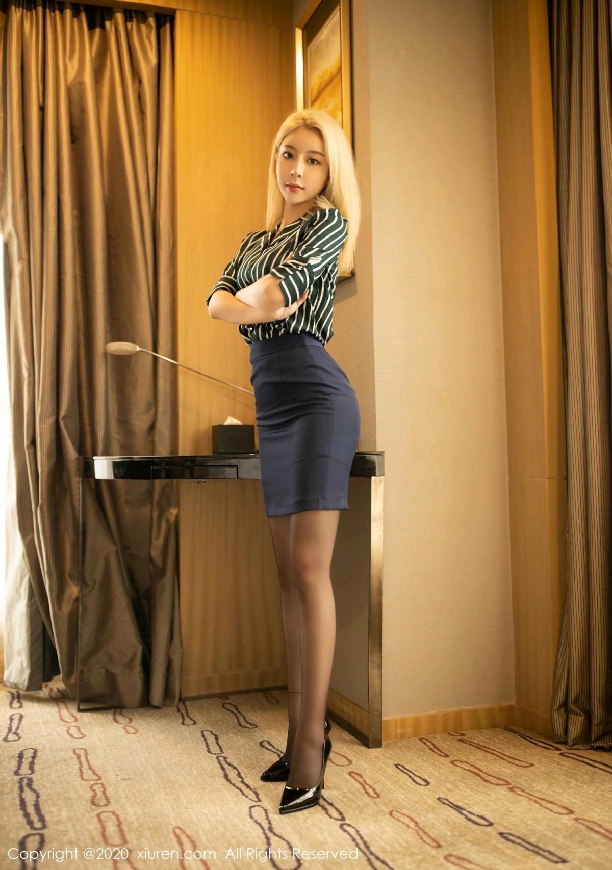 [XiuRen秀人网] 2020.09.23 No.2592 糯米NM 第2张
