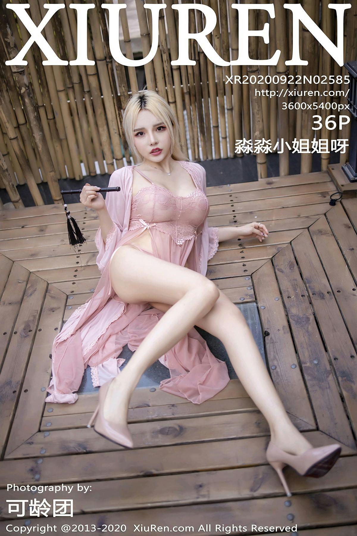 [XiuRen秀人网] 2020.09.22 No.2585 淼淼小姐姐呀 第1张
