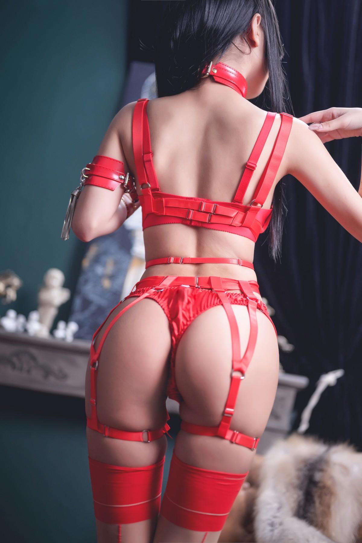 [Cosplay]鬼畜瑶 - 红色束缚 第2张