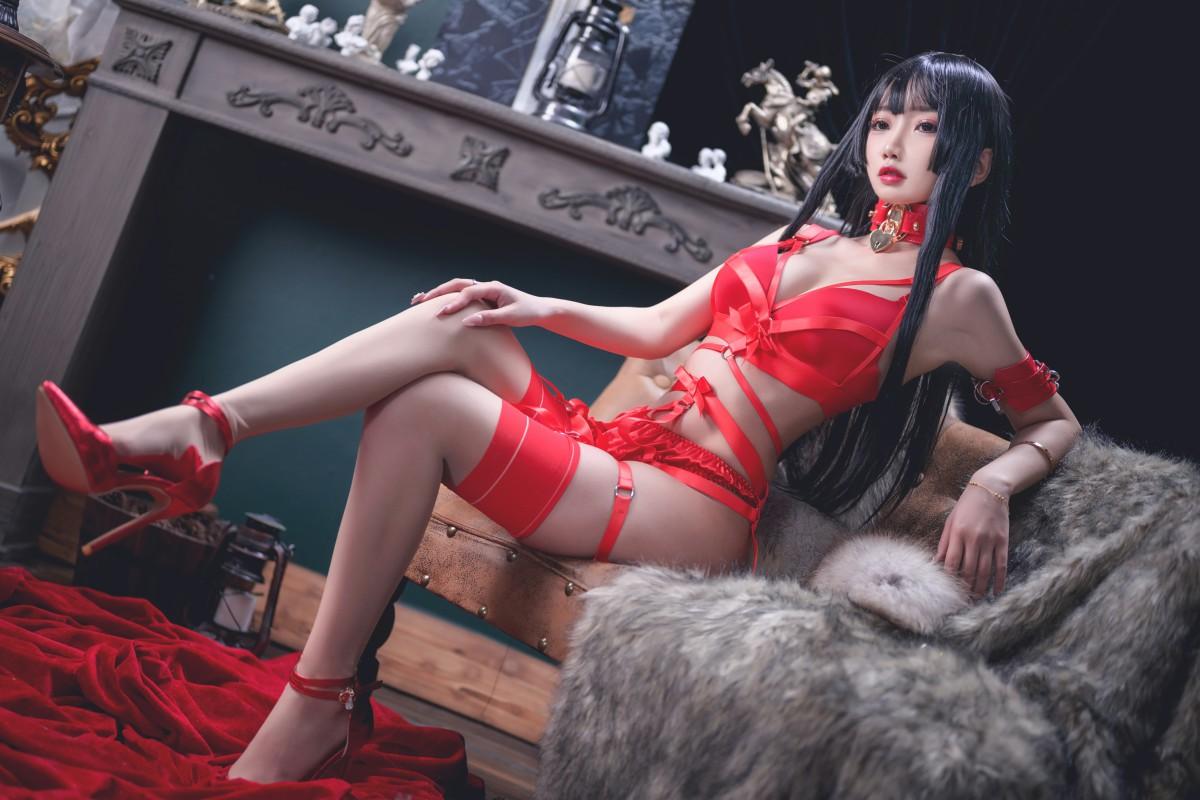 [Cosplay]鬼畜瑶 - 红色束缚 第4张