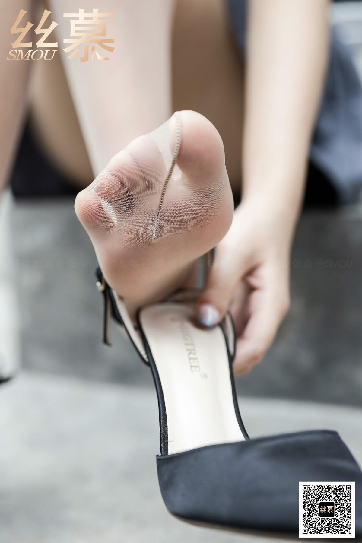 [丝慕写真] 2020.10.07 SM376 米朵《玩足×挑鞋》 第3张