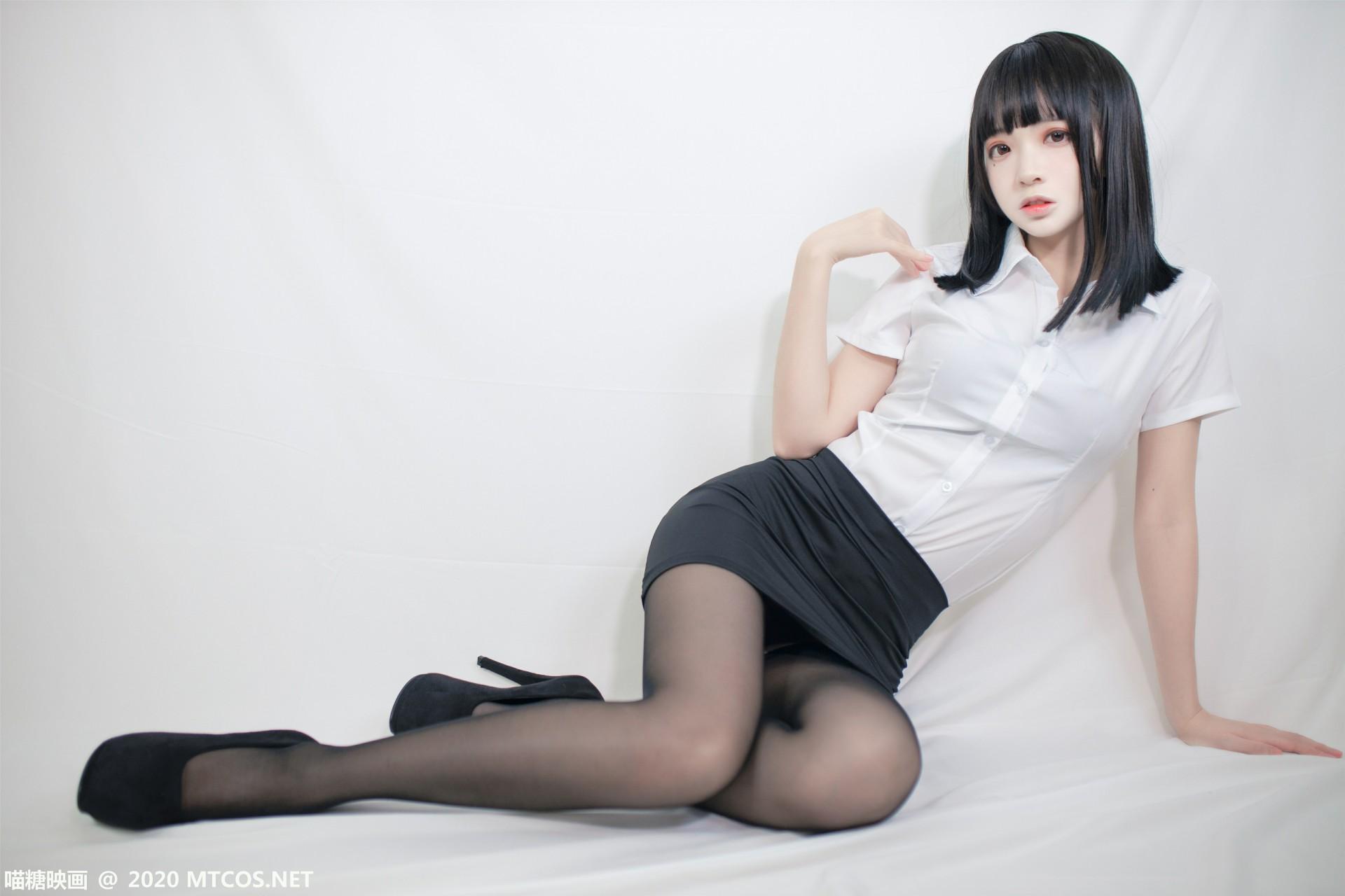 [喵糖映画] 2020.09.30 赏美系列 VOL.291 ol制服 第4张