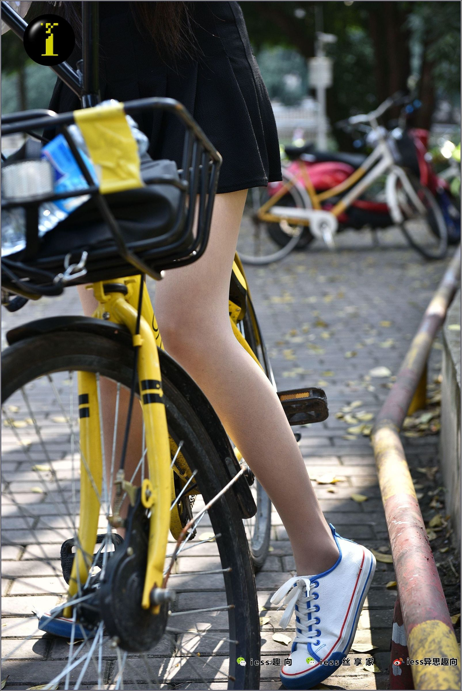 [IESS异思趣向] 普惠集 033 琪琪 16岁的单车少女[137P] 异思趣向 第2张