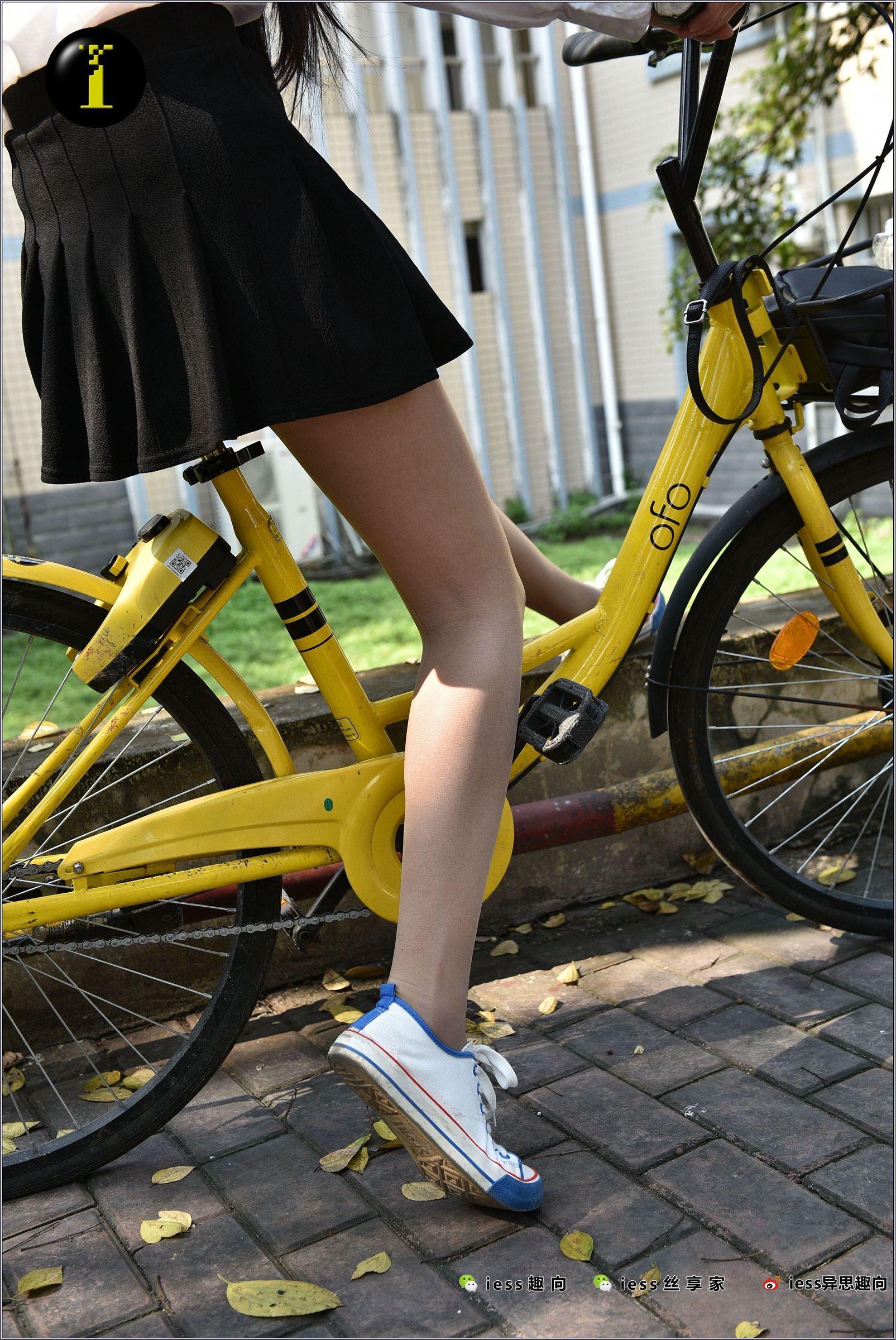 [IESS异思趣向] 普惠集 033 琪琪 16岁的单车少女[137P] 异思趣向 第4张