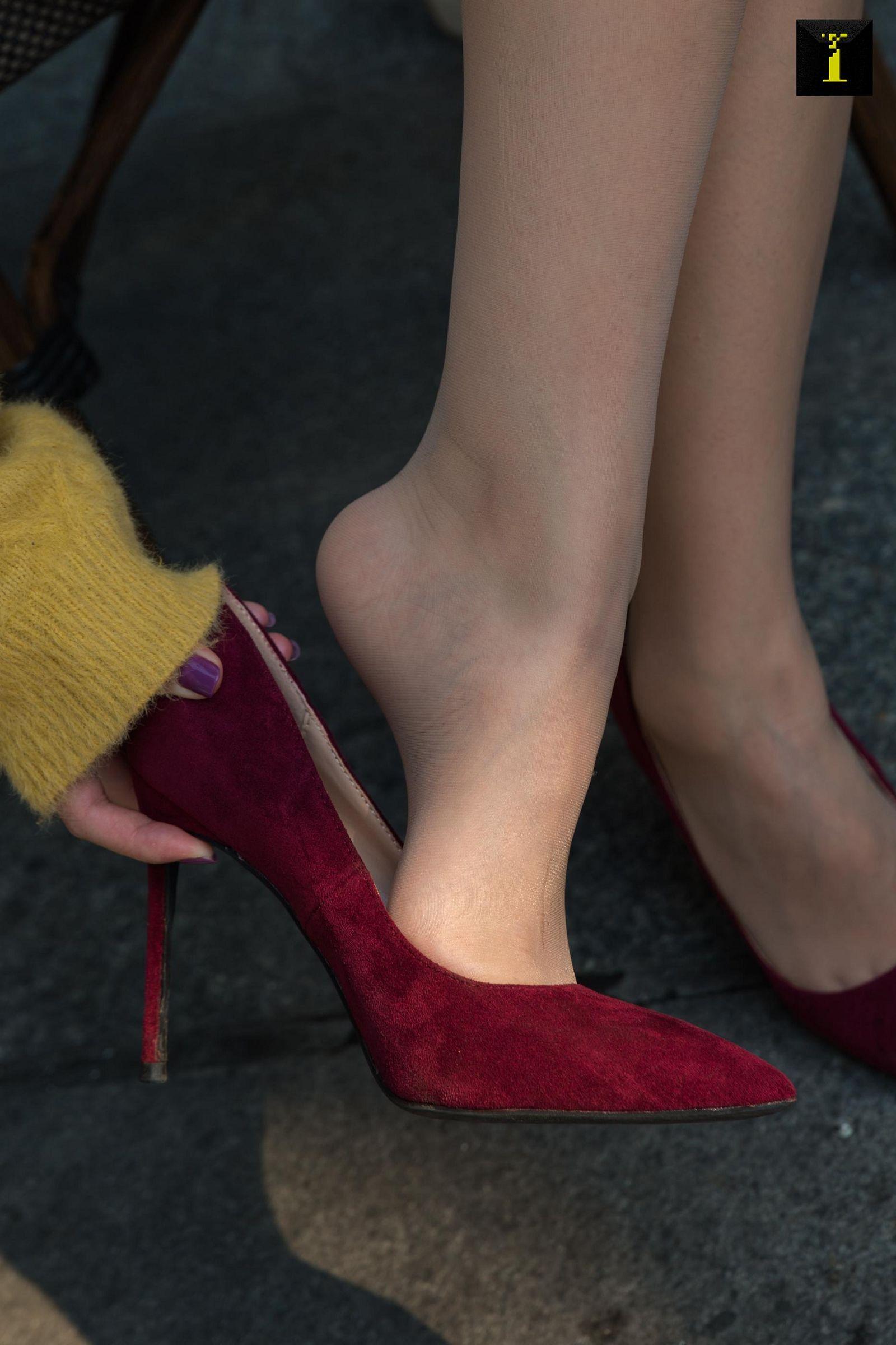 [IESS异思趣向] 2019.12.05 丝享家636:紫薇 – 换上新买的高跟鞋[95P] 异思趣向 第2张