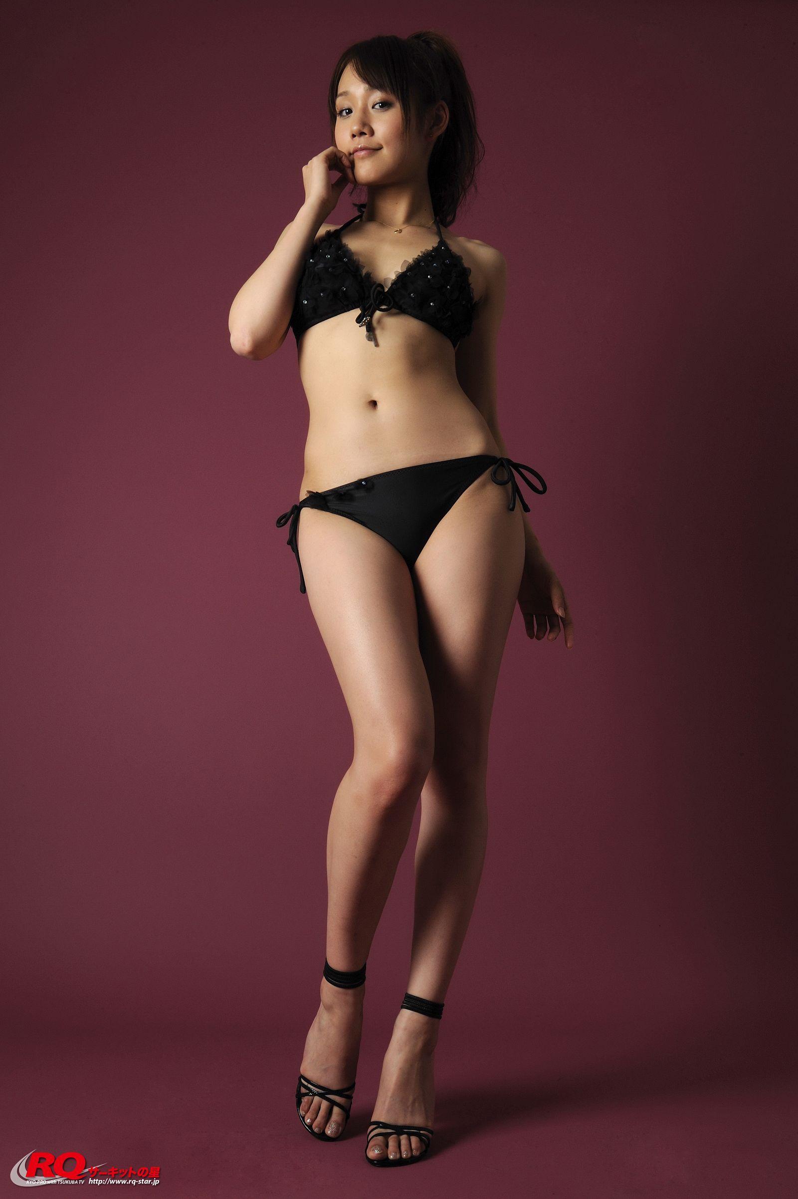 [RQ STAR美女] NO.00126 Reina Fuchiwaki 淵脇レイナ Swim Suits Black[122P] RQ STAR 第3张