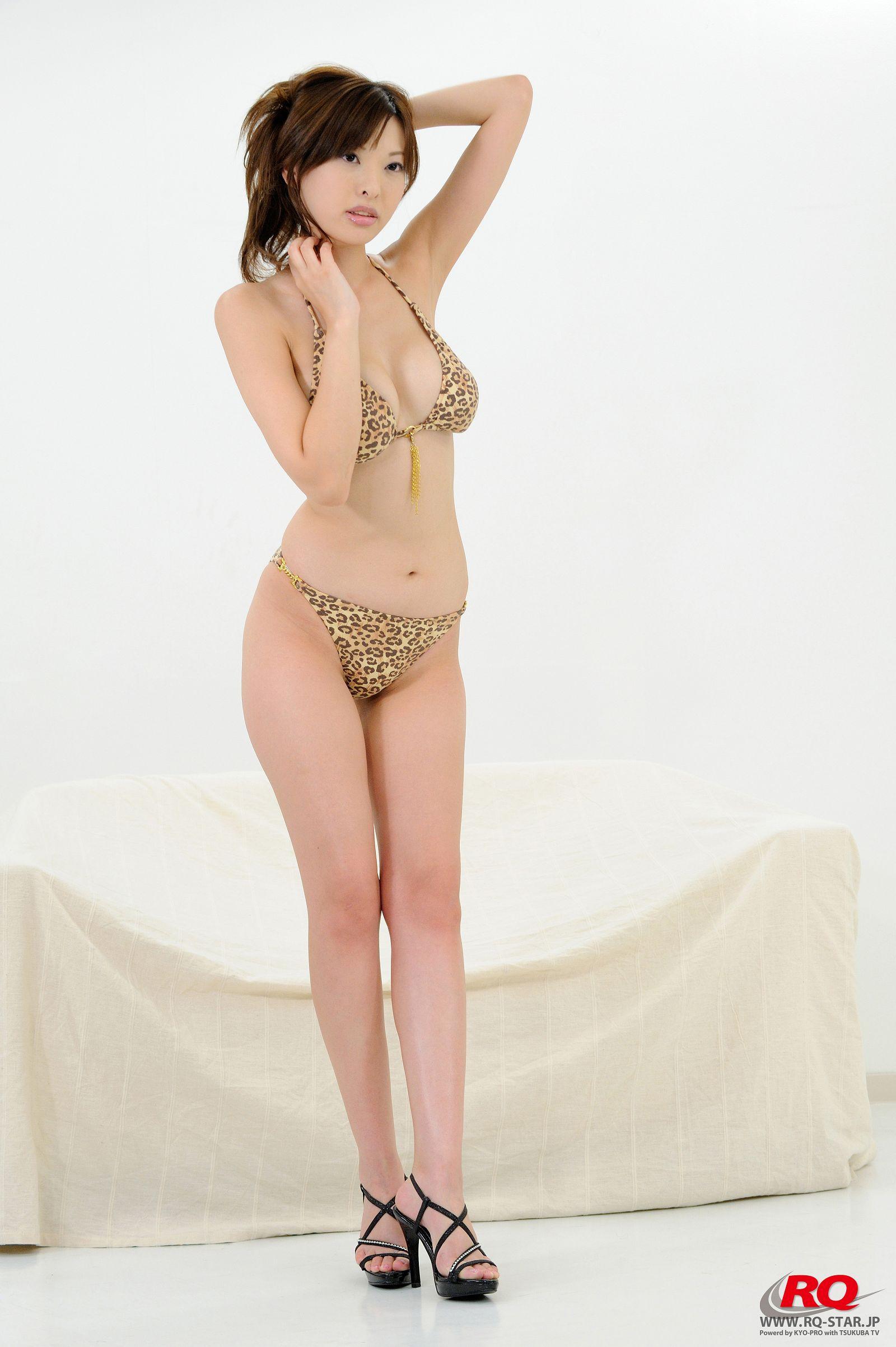 [RQ STAR美女] NO.0011 Mayumi Morishita 森下まゆみ [Swim Suits Leopard Grain #2][70P] RQ STAR 第2张