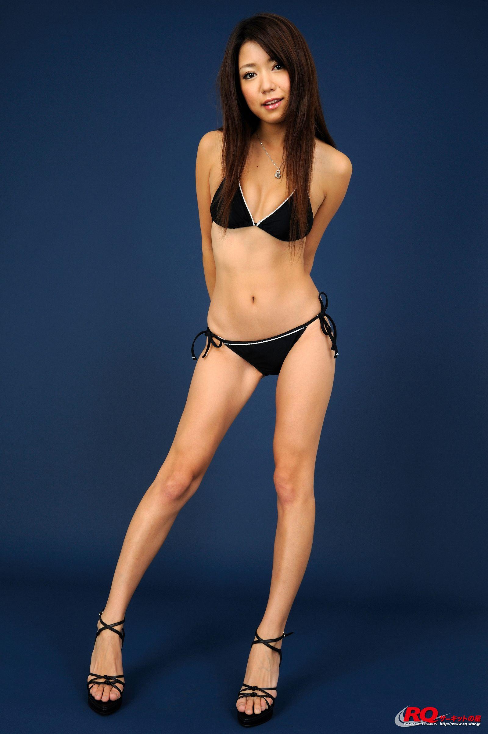 [RQ STAR美女] NO.00111 Keiko Inagaki 稲垣慶子 Swim Suits Black[100P] RQ STAR 第2张