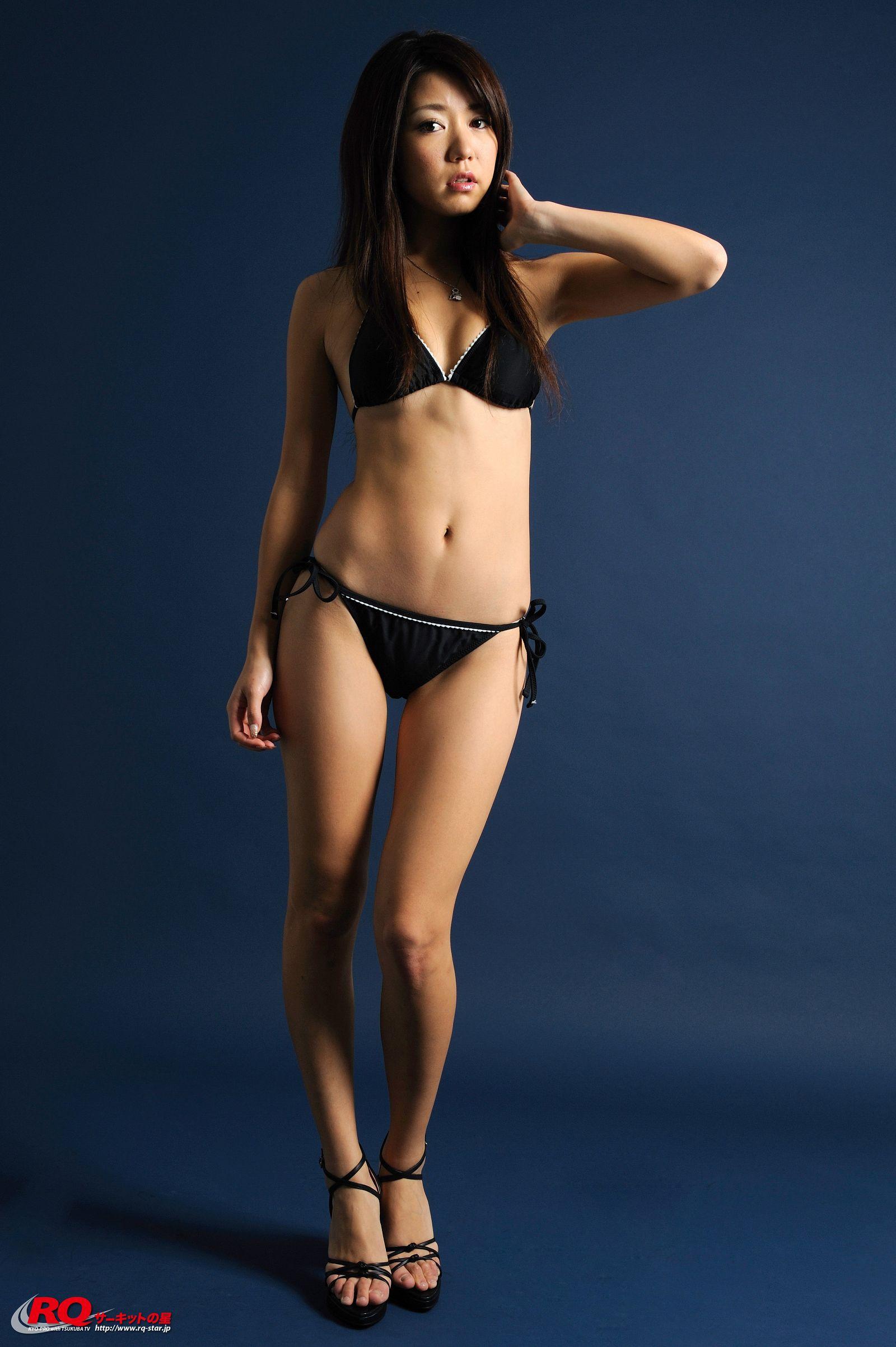 [RQ STAR美女] NO.00111 Keiko Inagaki 稲垣慶子 Swim Suits Black[100P] RQ STAR 第3张