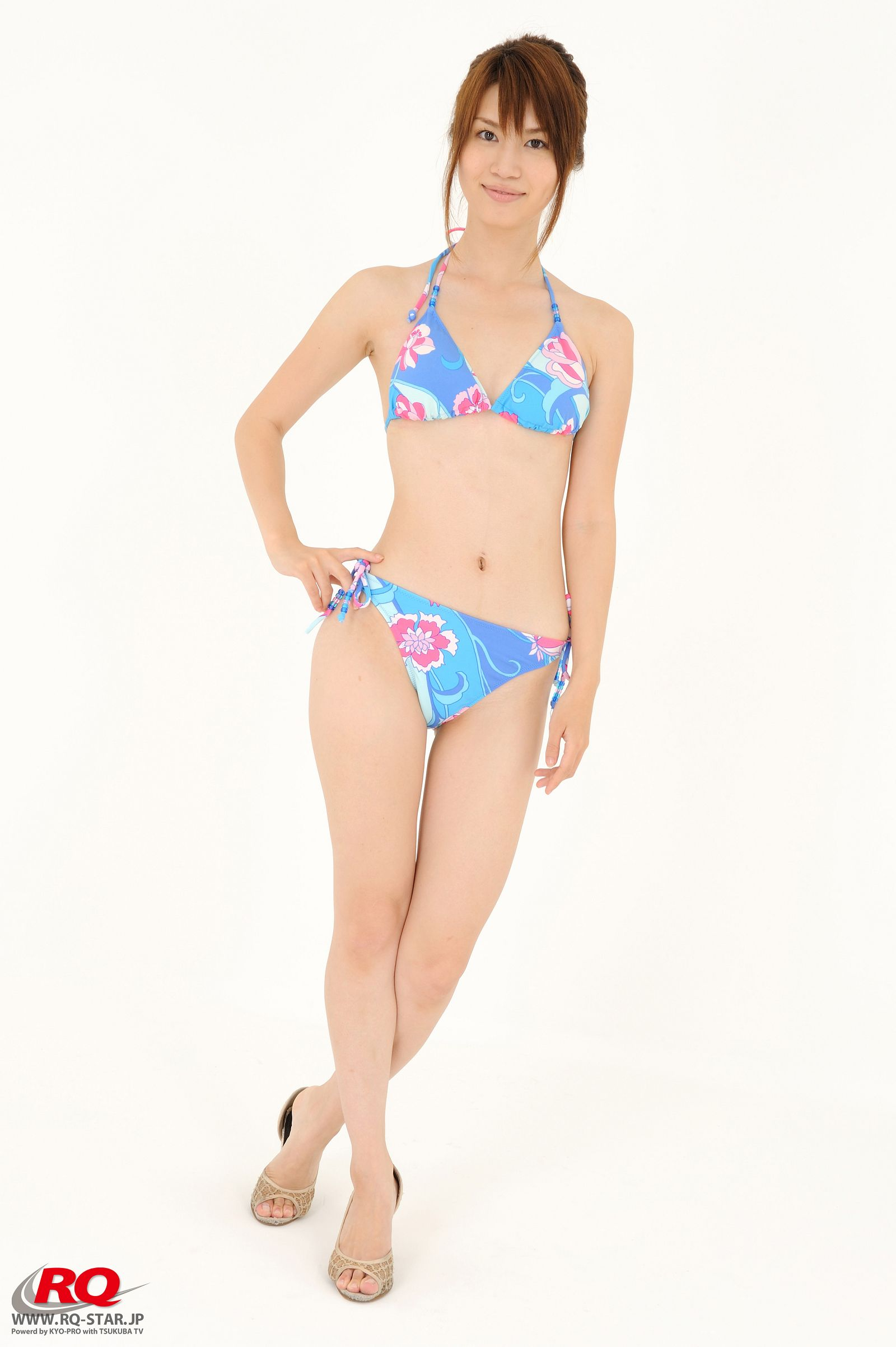 [RQ STAR美女] NO.0042 Aki Kogure 苤贍丐五 Swim Suits Blue[56P] RQ STAR 第1张