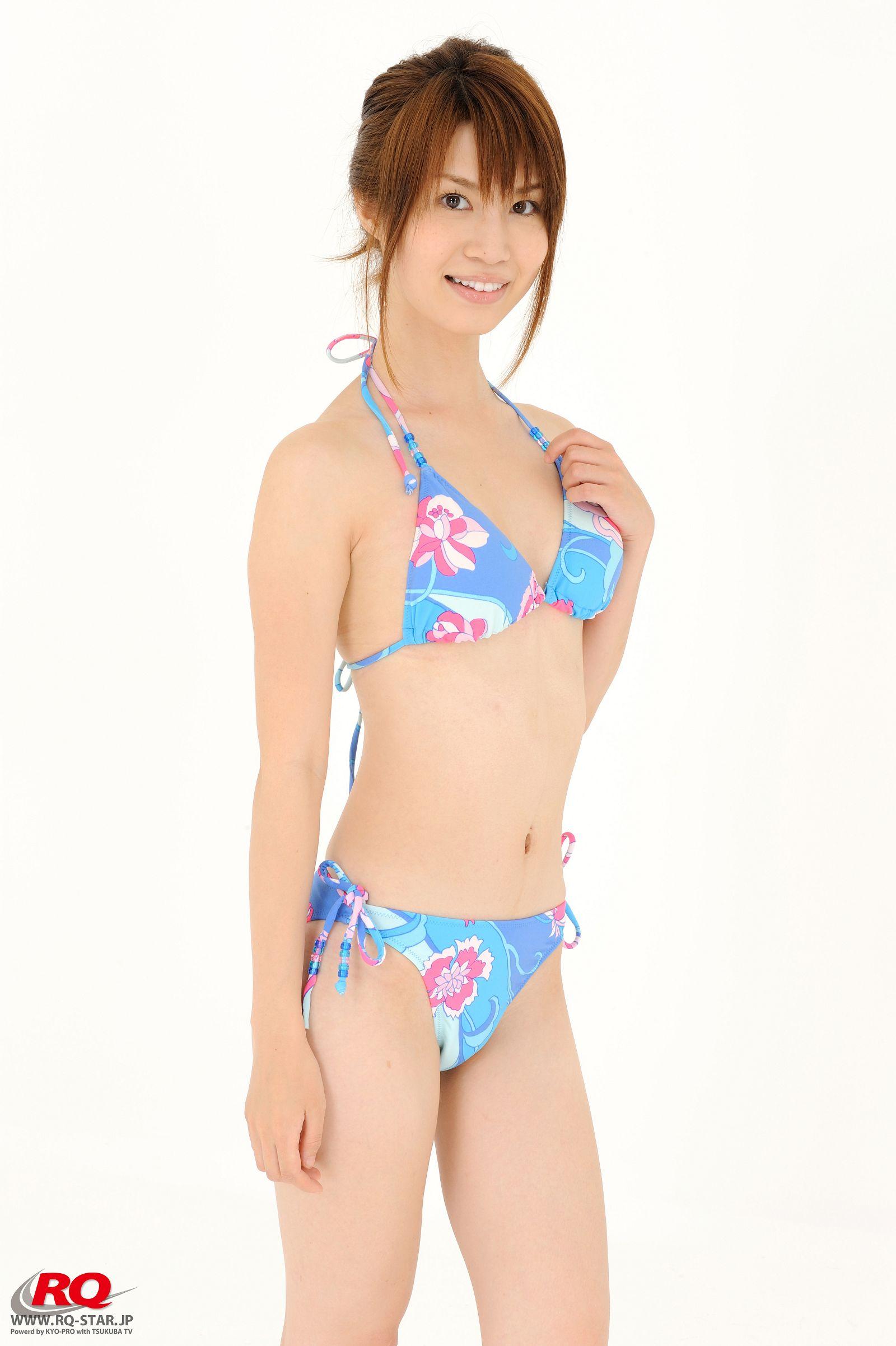 [RQ STAR美女] NO.0042 Aki Kogure 苤贍丐五 Swim Suits Blue[56P] RQ STAR 第2张