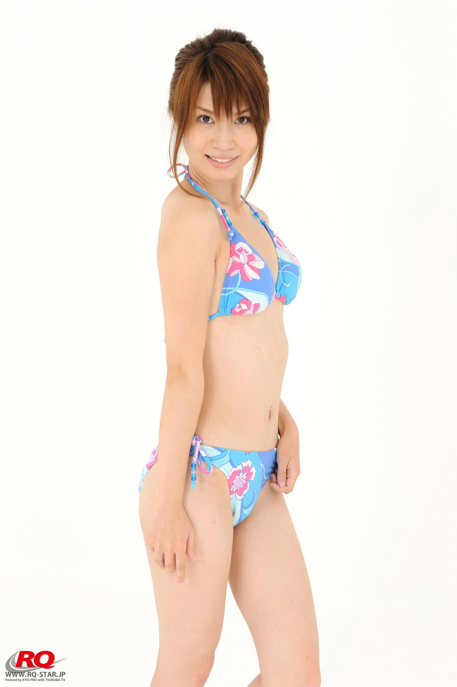 [RQ STAR美女] NO.0042 Aki Kogure 苤贍丐五 Swim Suits Blue[56P] RQ STAR 第3张
