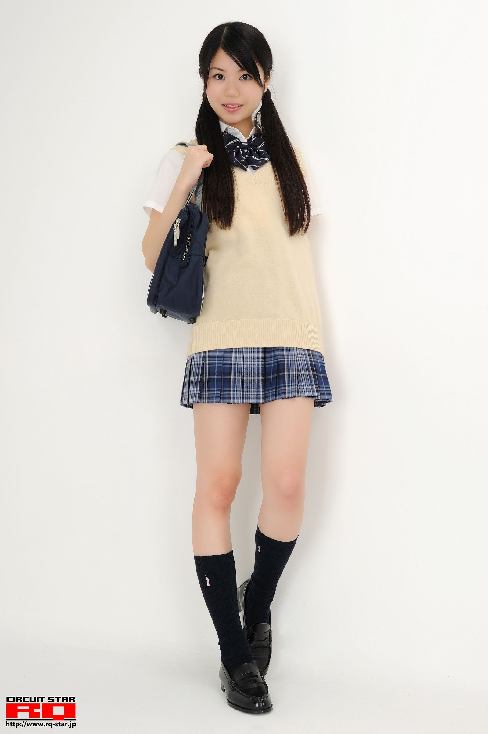 [RQ STAR美女] NO.00436 Fuyumi Ikehara 池原冬実 School Girl[85P] RQ STAR 第1张