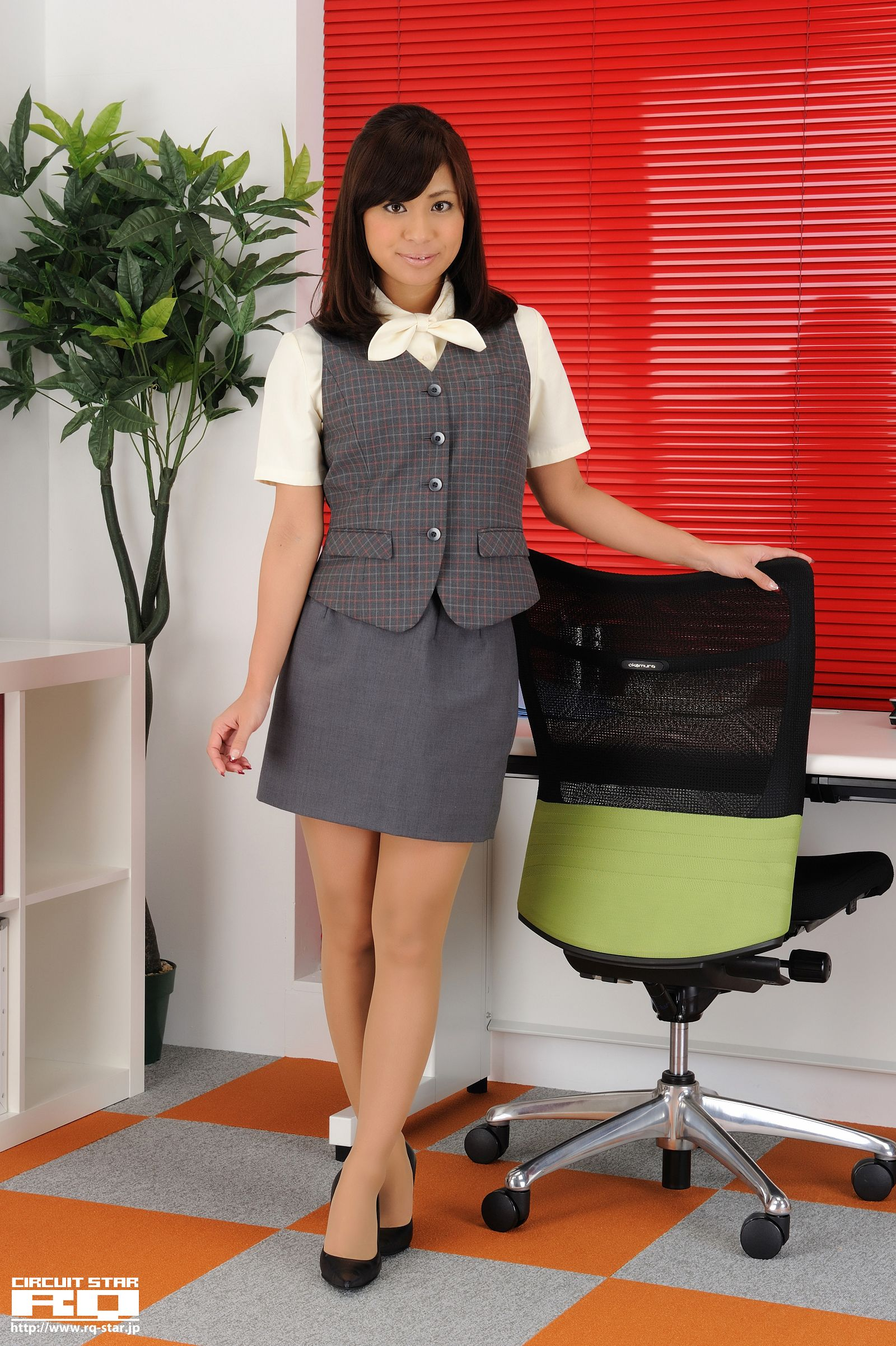 [RQ STAR美女] NO.00460 Maika Sugisaki 杉崎マイカ Office Lady[67P] RQ STAR 第1张