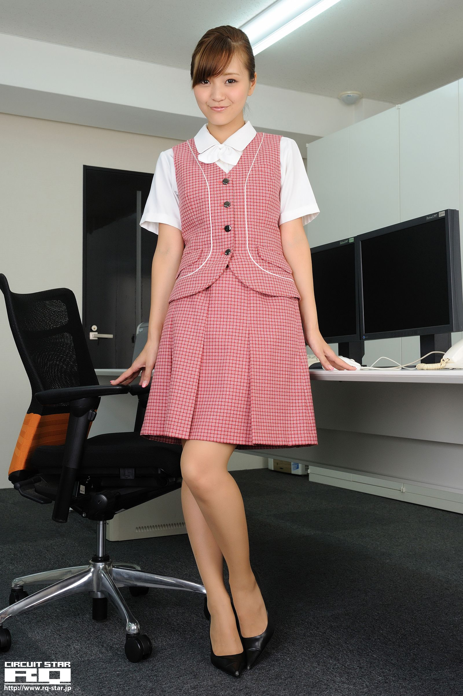 [RQ STAR美女] NO.00537 Mina Momohara 桃原美奈 – Office Lady[120P] RQ STAR 第1张