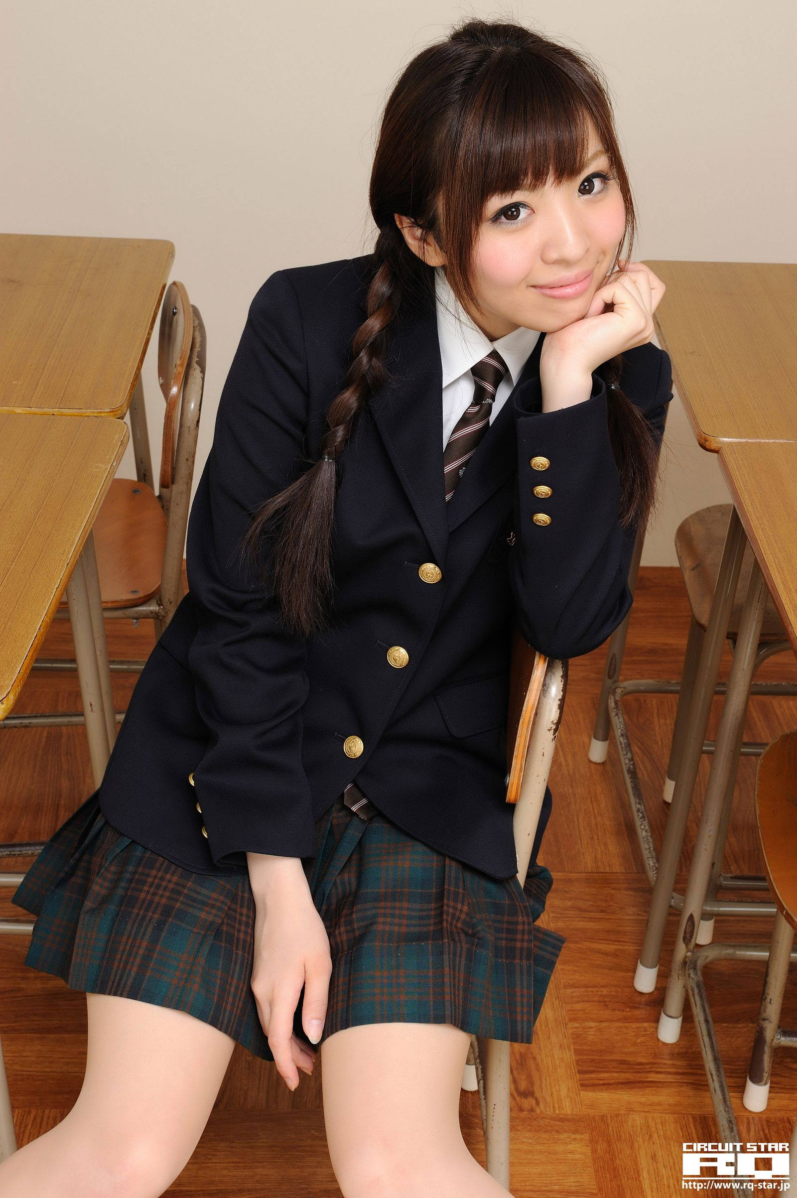 [RQ STAR美女] NO.00515 Mayuka Kuroda 锿蚪Y花 Student Style[111P] RQ STAR 第2张