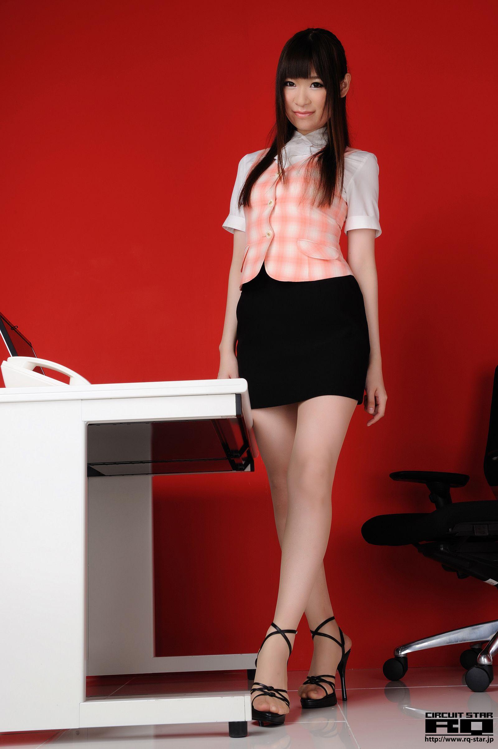 [RQ STAR美女] NO.00566 Eri Tomoki 友木えり Office Lady[77P] RQ STAR 第1张