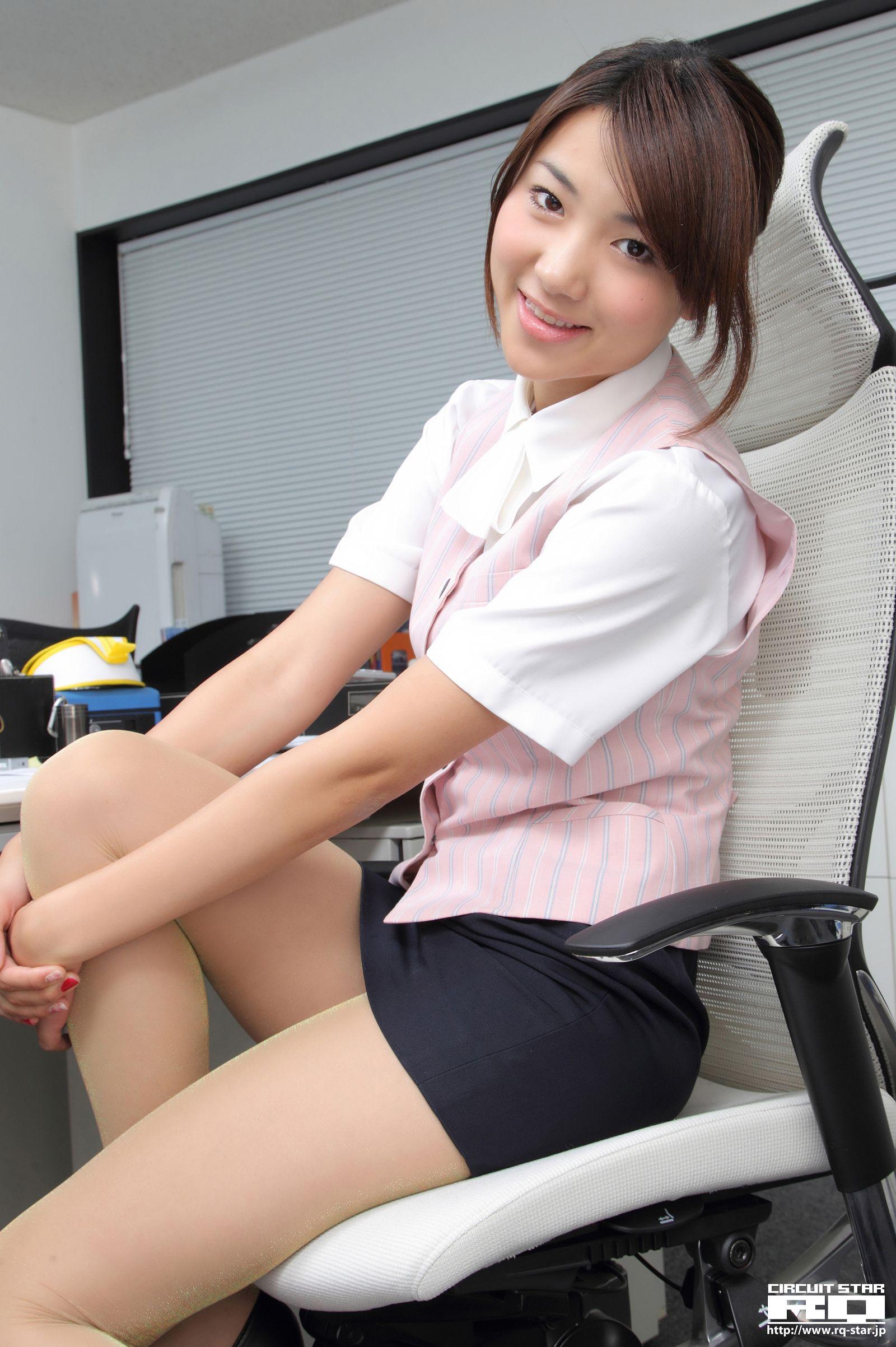 [RQ STAR美女] NO.00583 Naoho Ichihashi 市橋直歩 Office Lady[130P] RQ STAR 第3张
