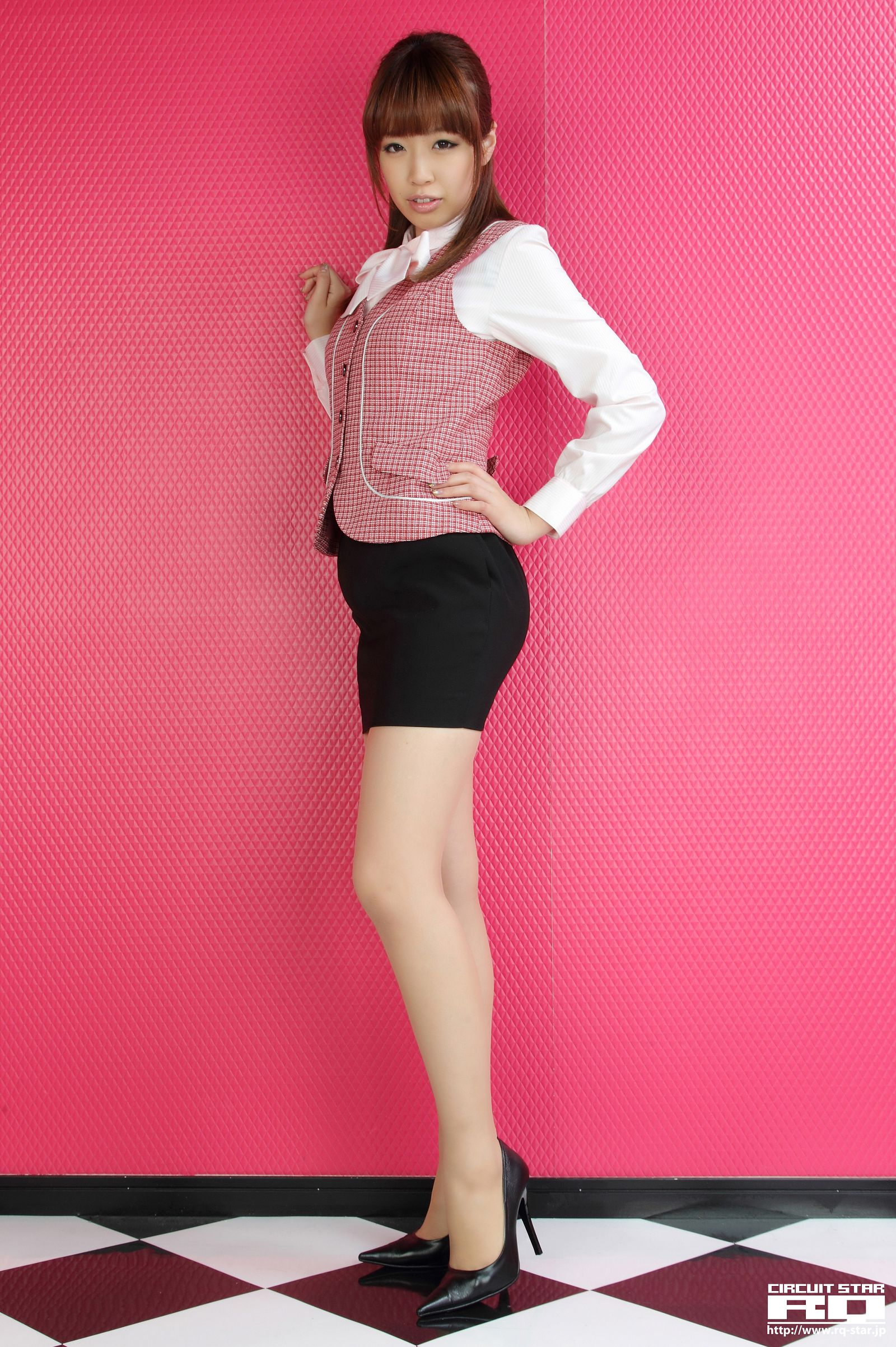 [RQ STAR美女] NO.00612 Minori Yamaoka 山岡実乃里 Office Lady[90P] RQ STAR 第4张
