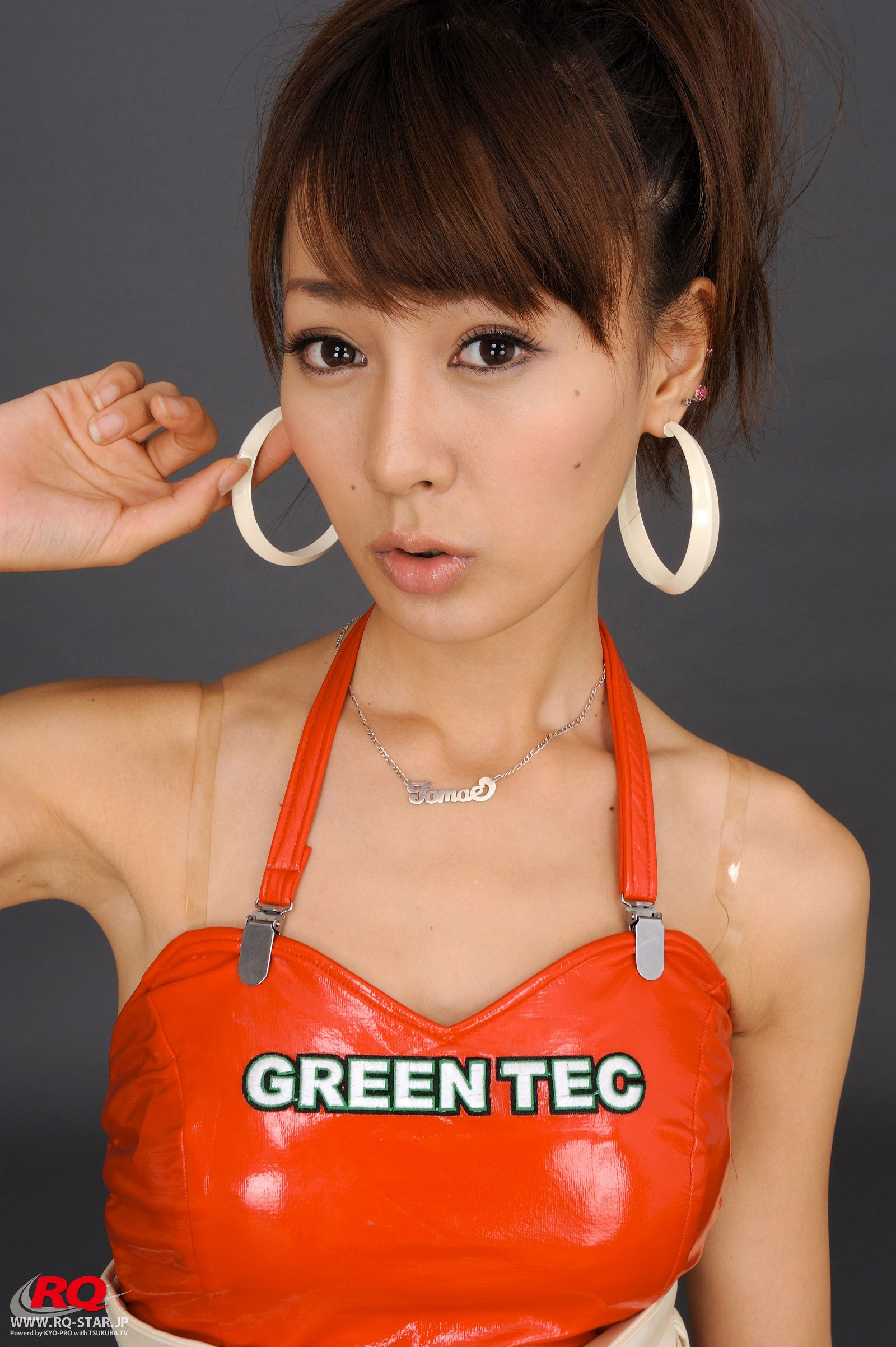 [RQ STAR美女] NO.0065 Tomoe Nakagawa 中川知映 Race Queen 2008 Green Tec[111P] RQ STAR 第3张