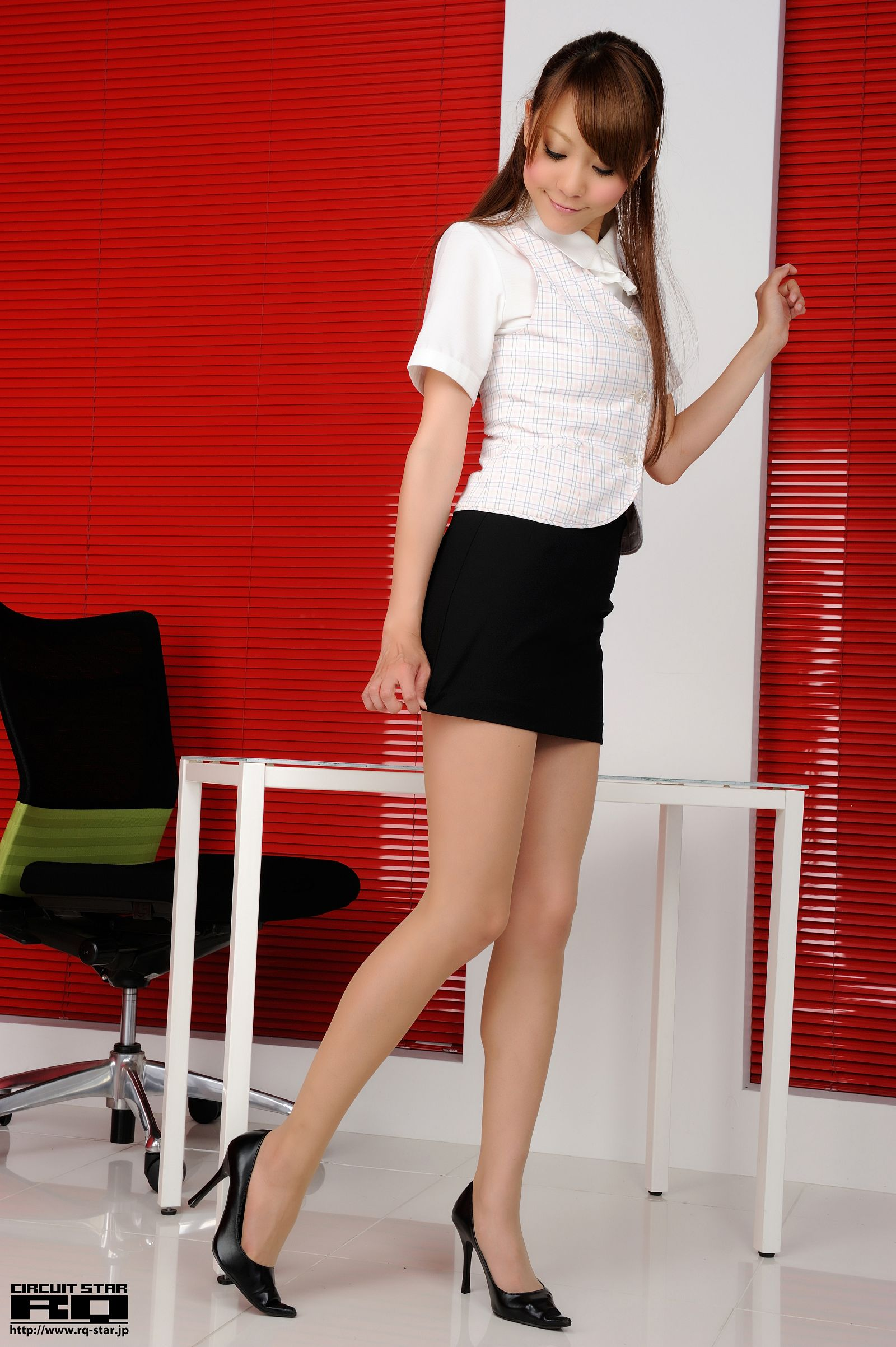 [RQ STAR美女] NO.00657 Saki Ueda 植田早紀 Office Lady[77P] RQ STAR 第2张