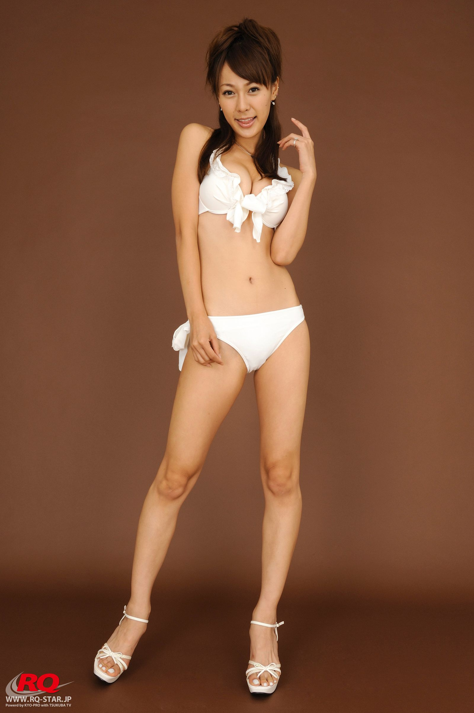 [RQ STAR美女] NO.0066 Tomoe Nakagawa 中川知映 Swim Suits White[108P] RQ STAR 第1张