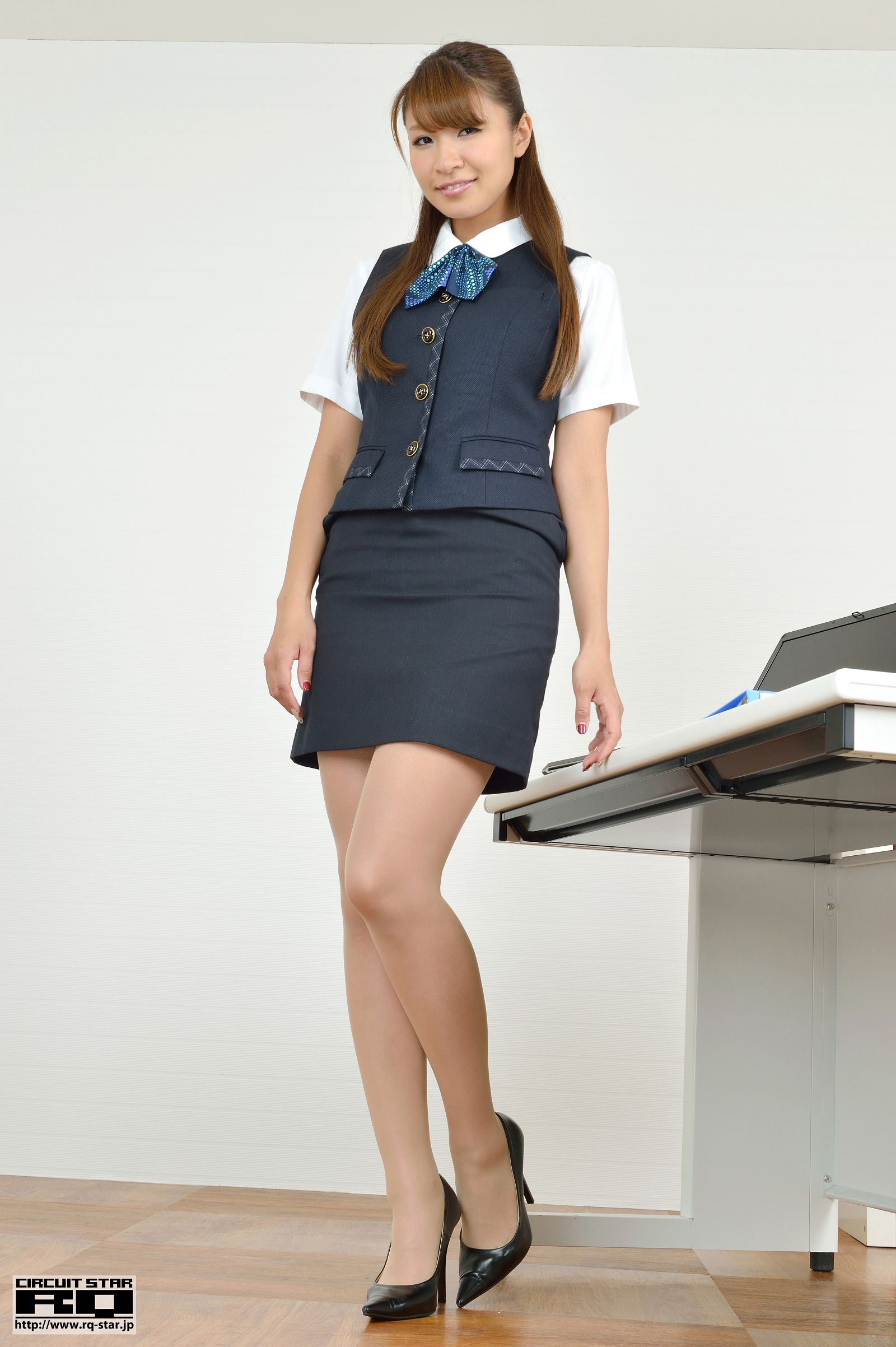 [RQ STAR美女] NO.00713 Minami Hazuki 葉月みなみ Office Lady[100P] RQ STAR 第1张