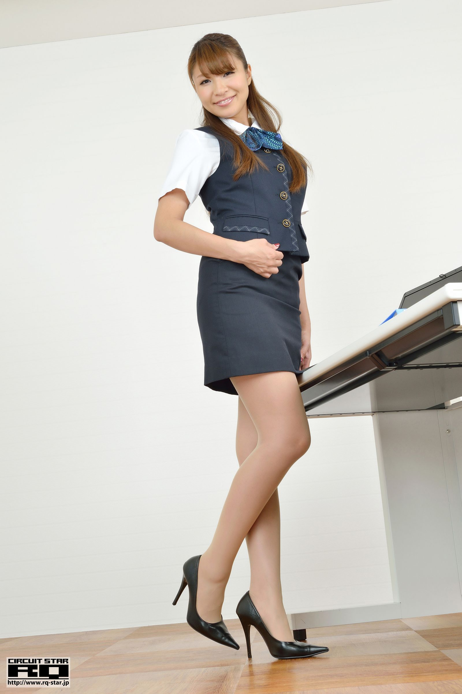 [RQ STAR美女] NO.00713 Minami Hazuki 葉月みなみ Office Lady[100P] RQ STAR 第2张