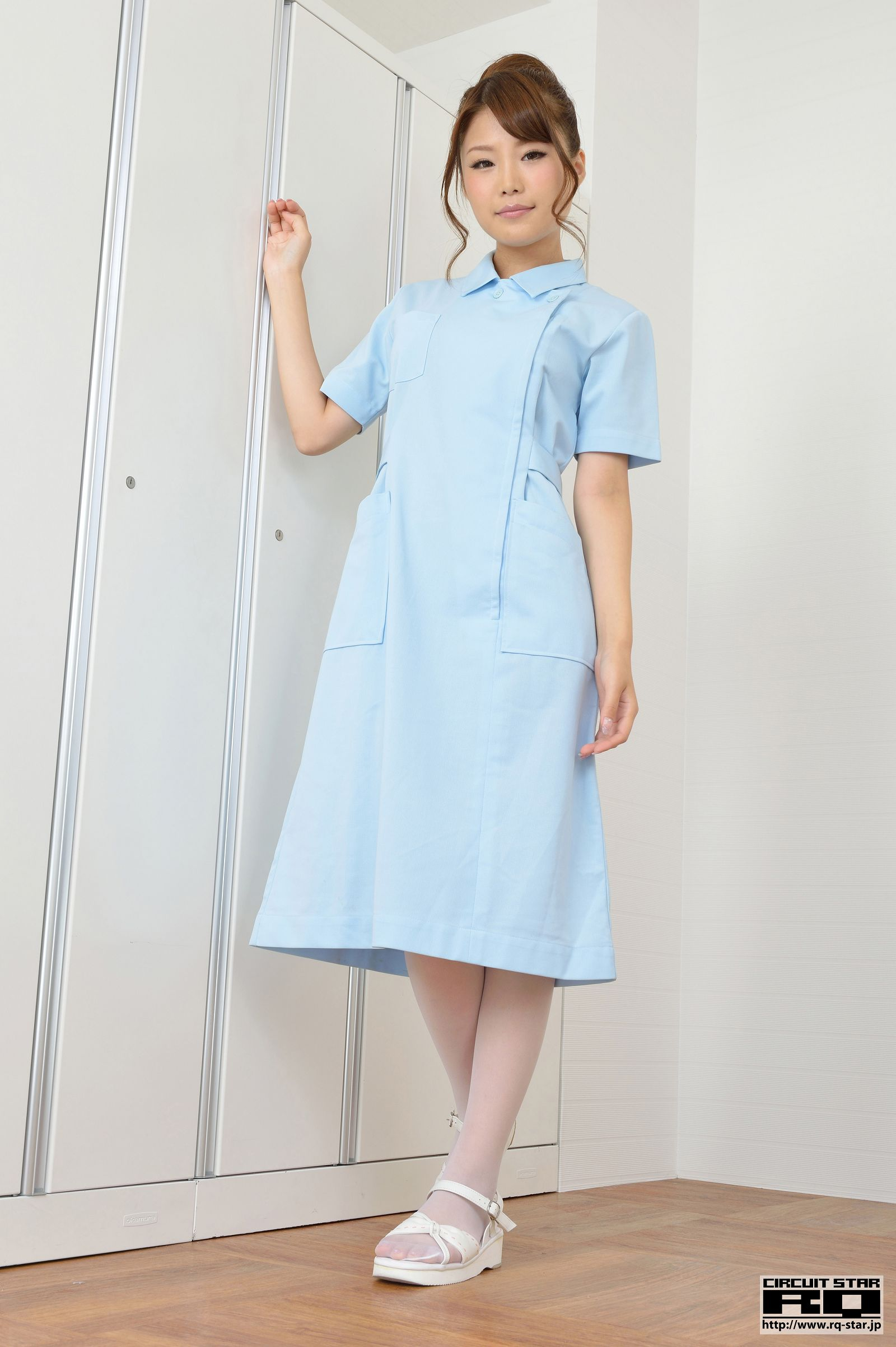 [RQ STAR美女] NO.00745 Nanako Mizuno 水野菜々子 Nurse Style[75P] RQ STAR 第1张