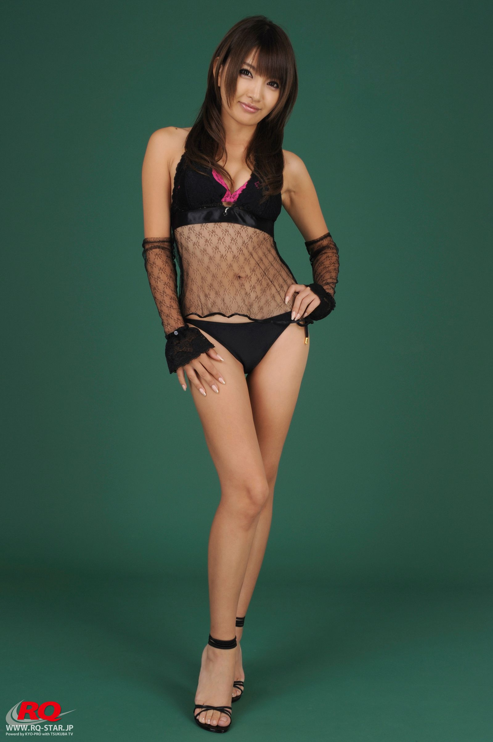 [RQ STAR美女] NO.0079 Chie Yamauchi 山內智恵 Swim Suits Black[118P] RQ STAR 第1张
