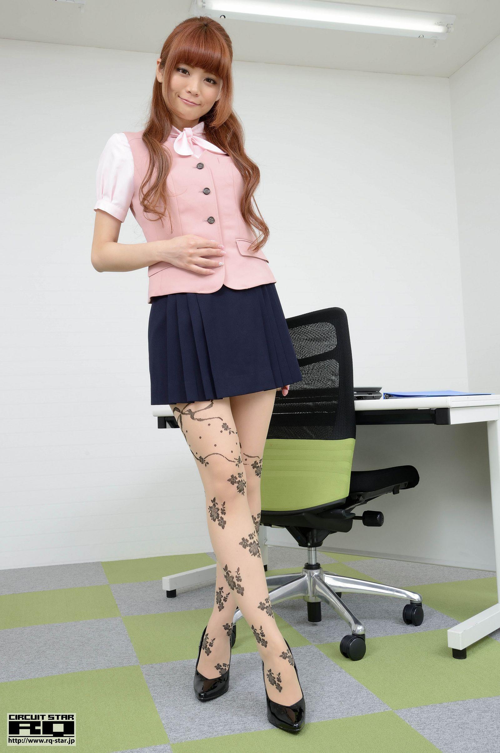 [RQ STAR美女] NO.00832 Aine Sayuka 朔矢あいね Office Lady[120P] RQ STAR 第1张