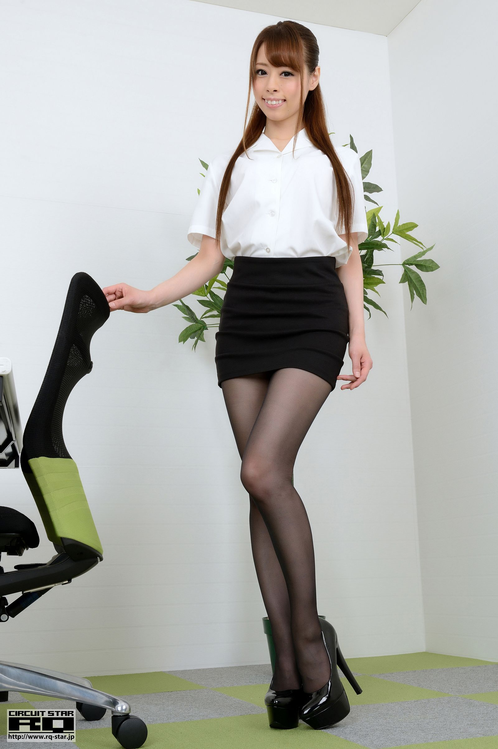 [RQ STAR美女] NO.00849 MIU Office Lady[100P] RQ STAR 第1张