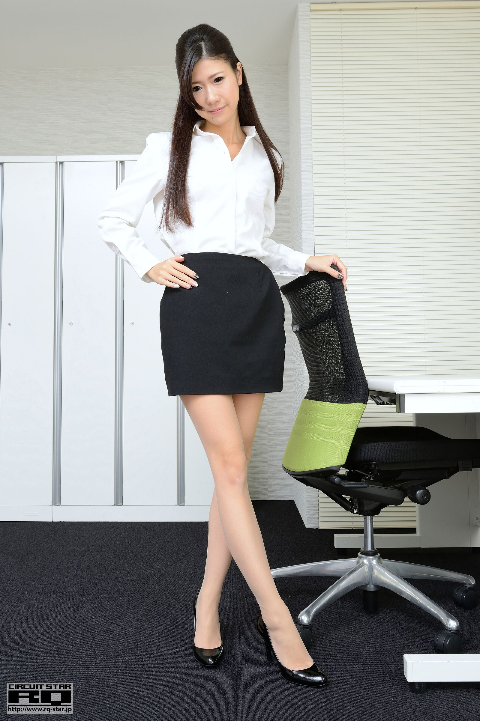 [RQ STAR美女] NO.00873 Miyu Sano 佐野美由 Office Lady[85P] RQ STAR 第1张