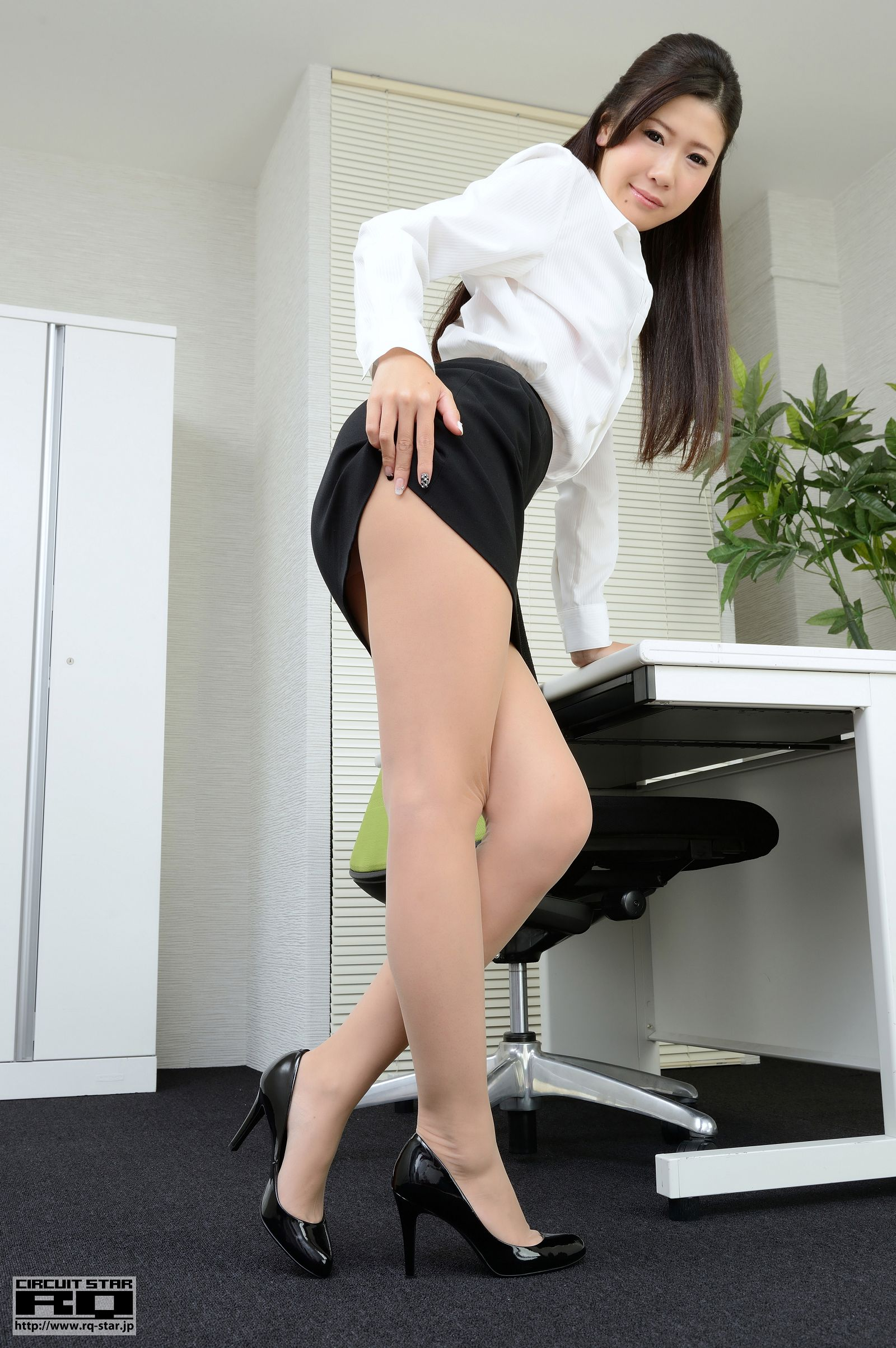 [RQ STAR美女] NO.00873 Miyu Sano 佐野美由 Office Lady[85P] RQ STAR 第3张
