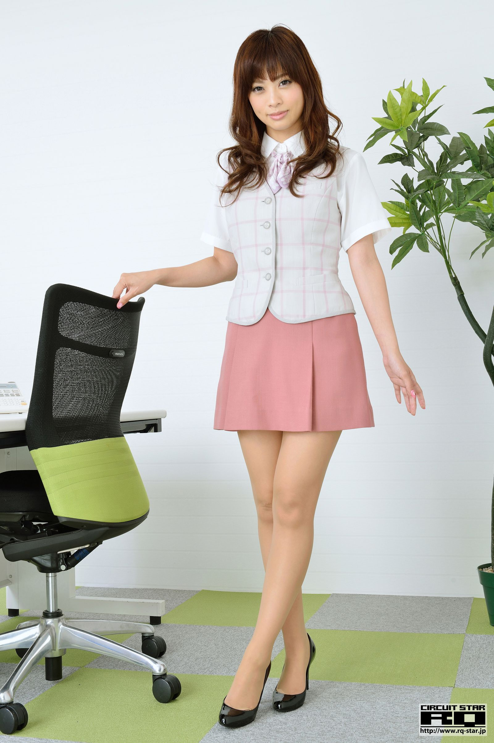 [RQ STAR美女] NO.00861 YUKI Office Lady[100P] RQ STAR 第1张