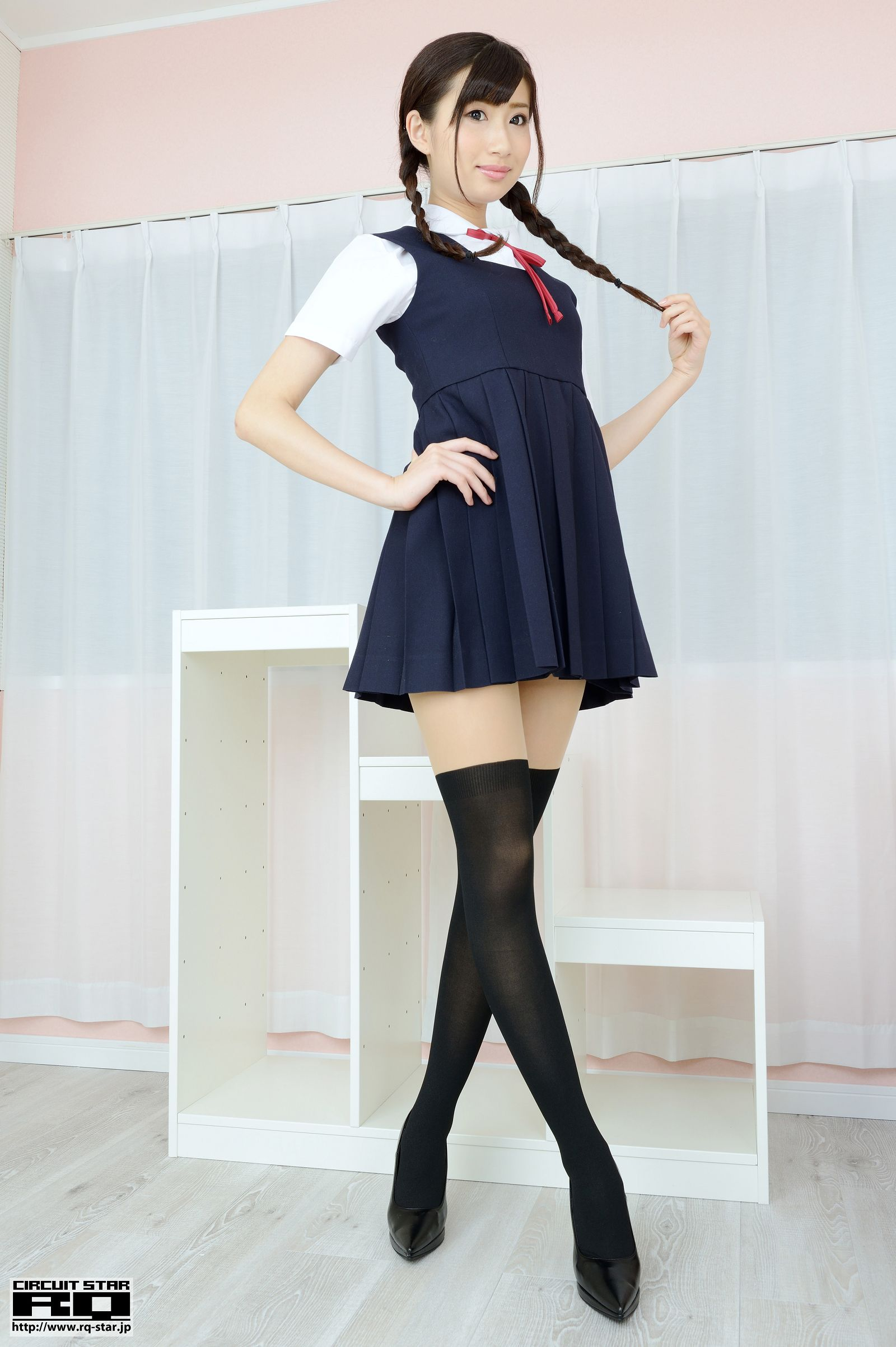 [RQ STAR美女] NO.00942 Ririno Oomiya 大宮梨々乃 School Girl[100P] RQ STAR 第1张
