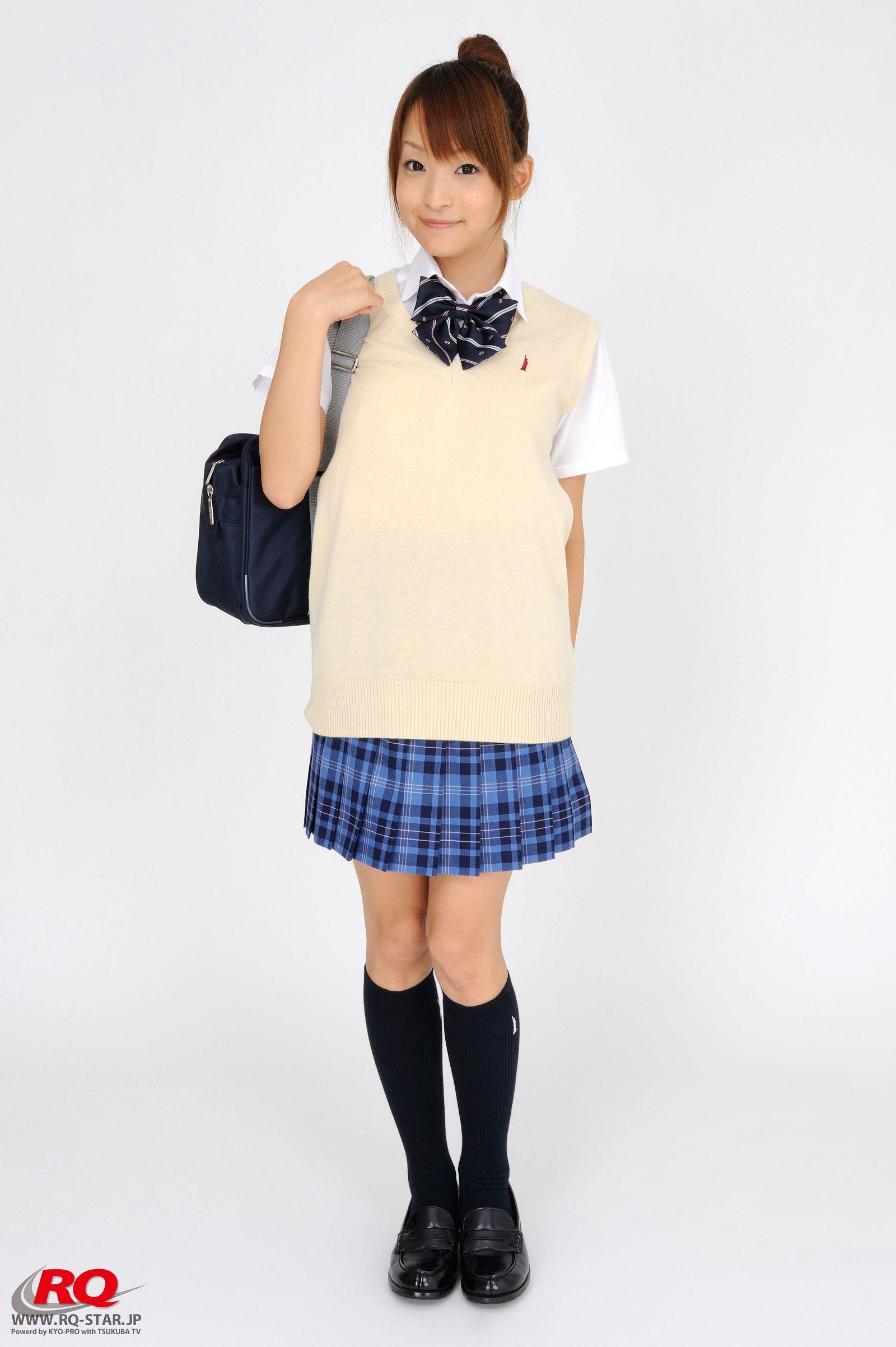[RQ STAR美女] NO.0097 Mio Aoki 青木未央 Student Style[78P] RQ STAR 第1张