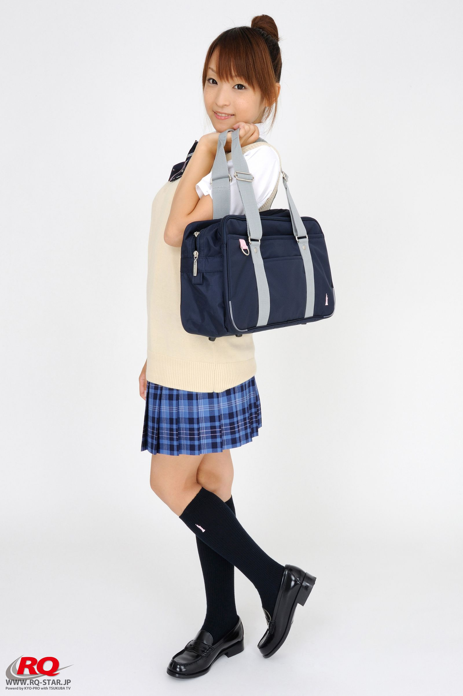 [RQ STAR美女] NO.0097 Mio Aoki 青木未央 Student Style[78P] RQ STAR 第2张