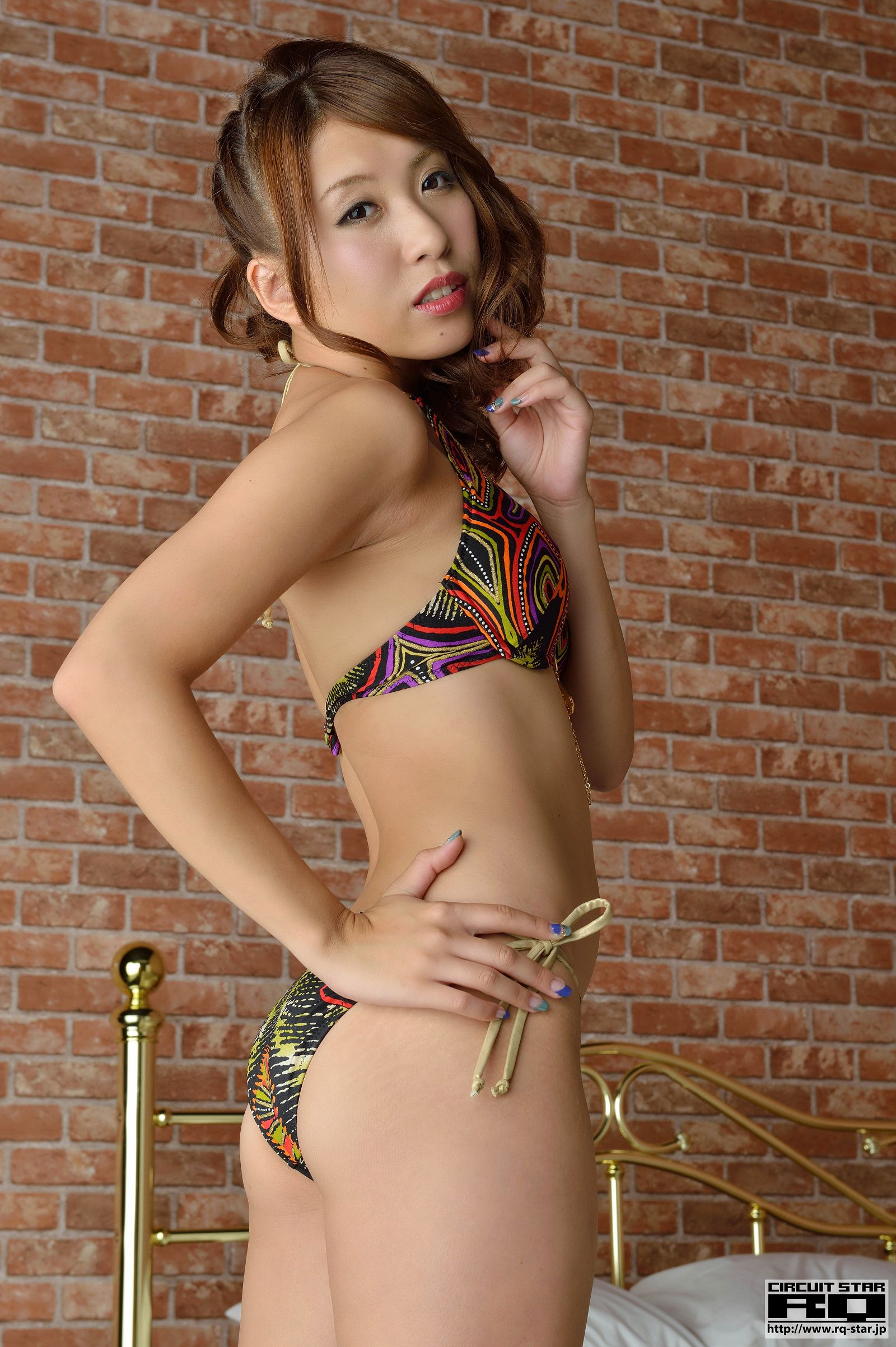 [RQ STAR美女] NO.01045 Miki Makibashi 牧橋美輝 Swim Suits[80P] RQ STAR 第4张