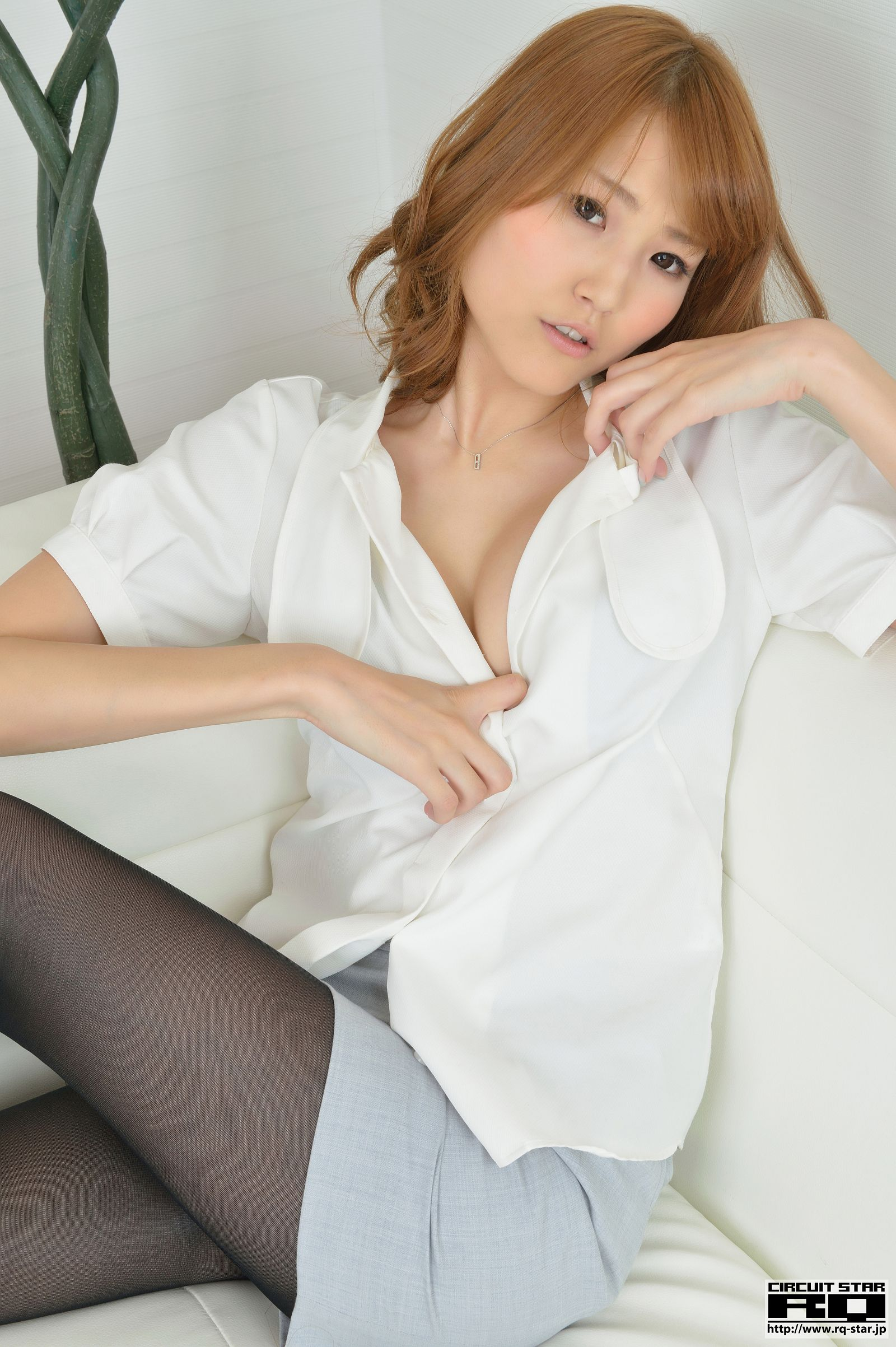 [RQ STAR美女] NO.01057 Aya Matsubayashi 松林彩 Office Lady[105P] RQ STAR 第3张