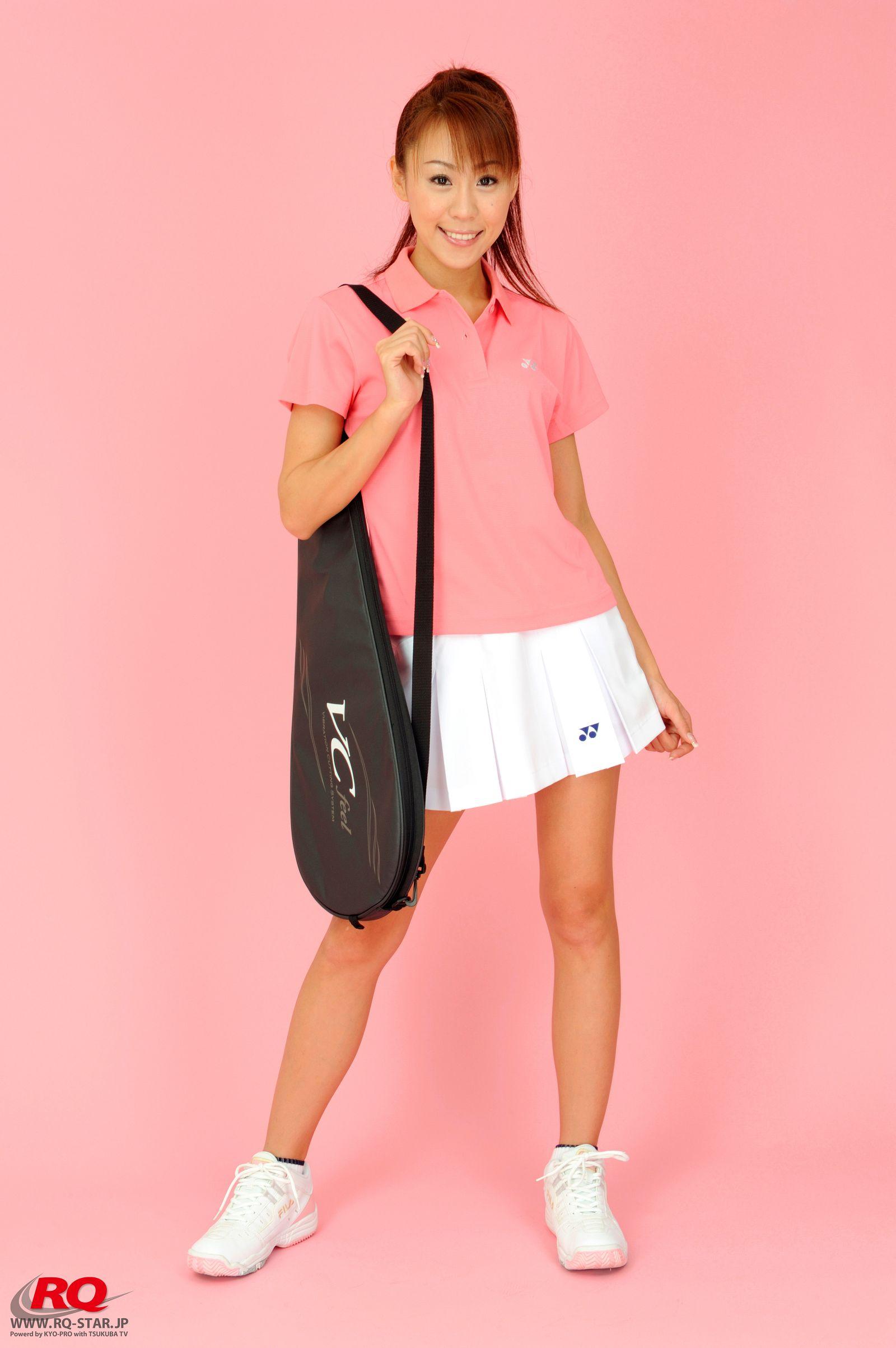 [RQ STAR美女] NO.01072 Mika Yokobe 横部実佳 Tennis Wear[90P] RQ STAR 第1张