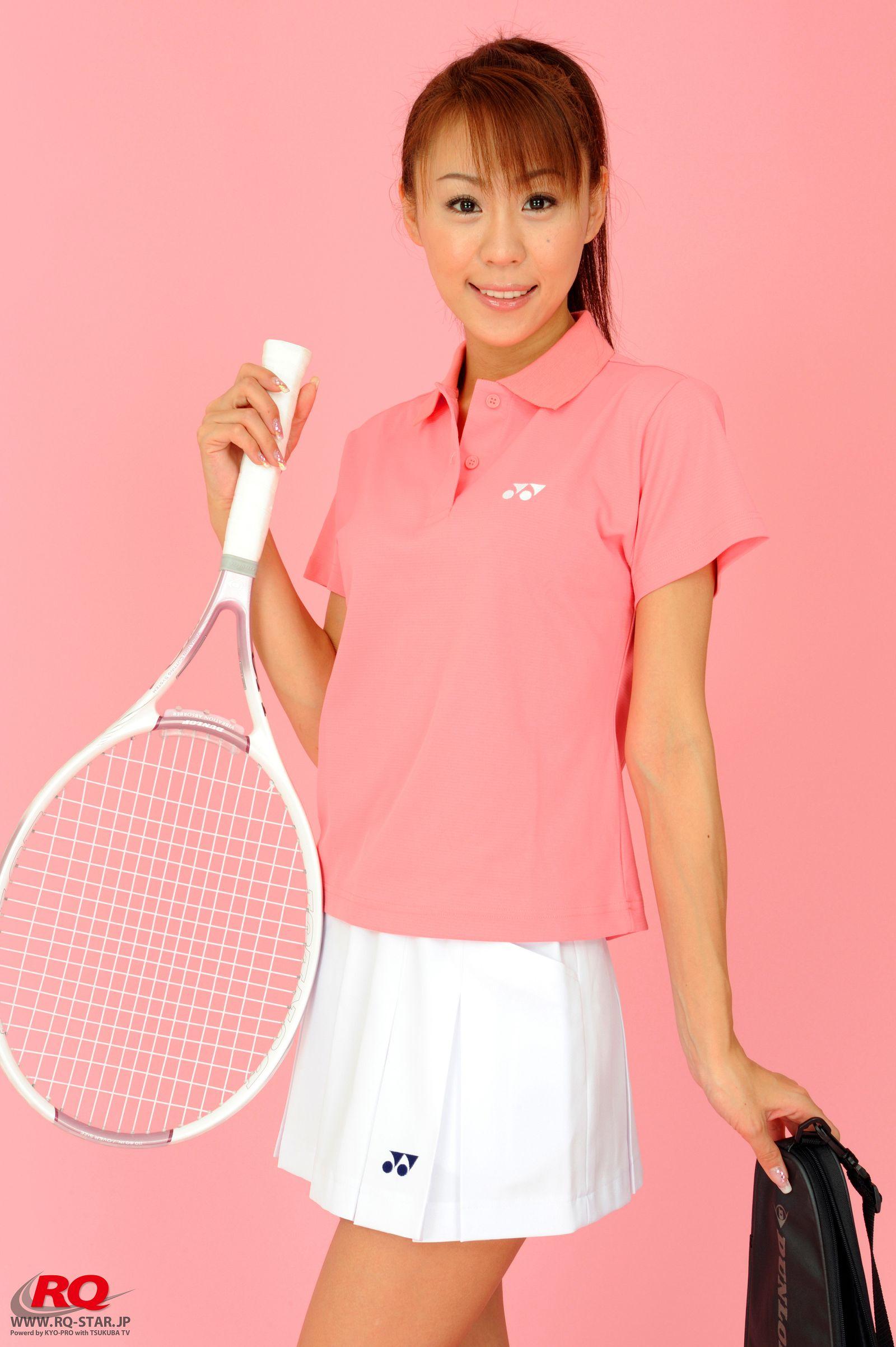 [RQ STAR美女] NO.01072 Mika Yokobe 横部実佳 Tennis Wear[90P] RQ STAR 第2张